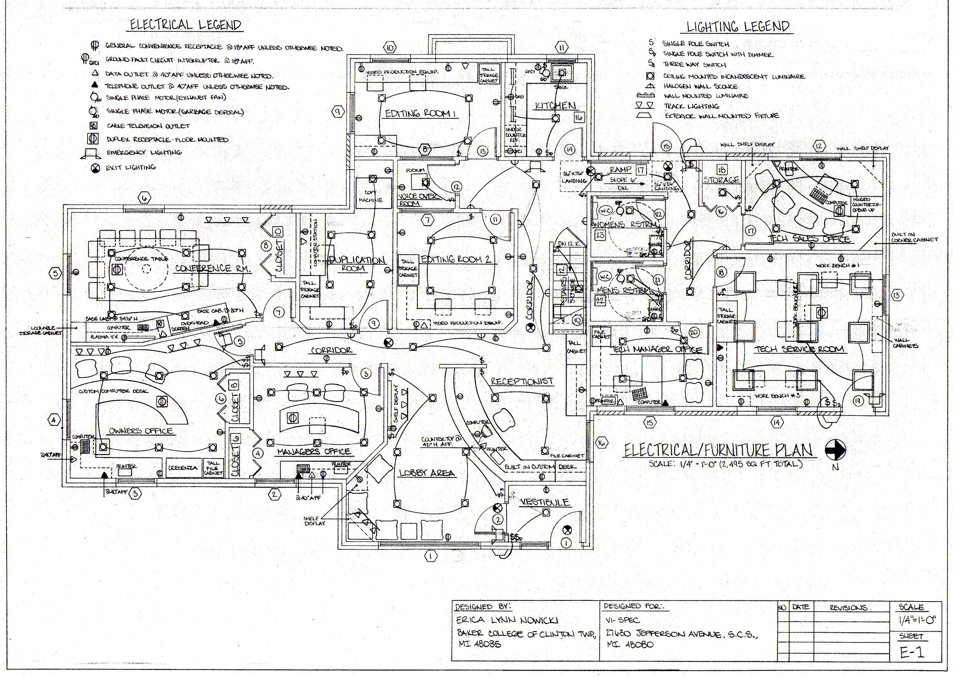 Electrical Building Plan - Merzie.net