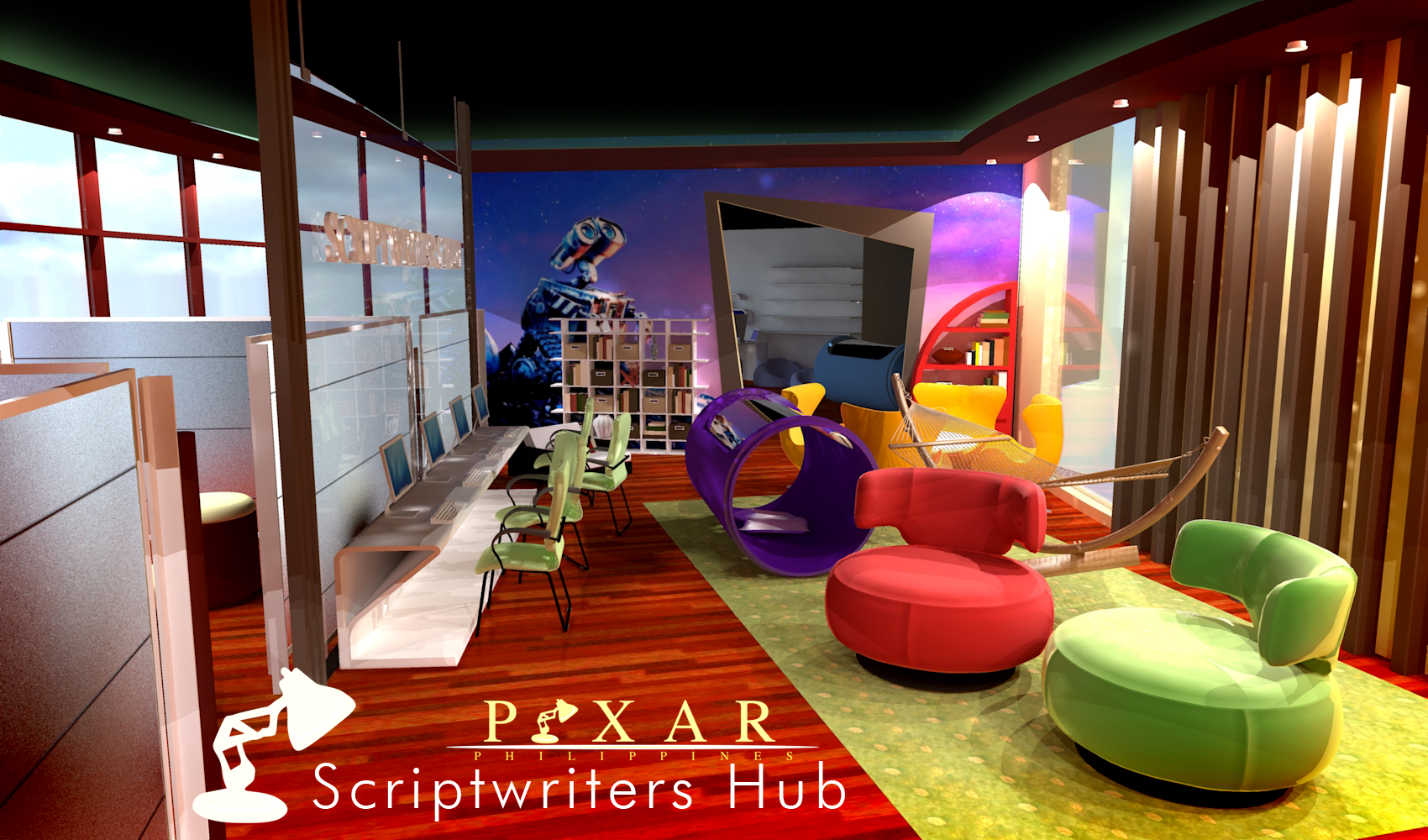 Pixar Philippines Animation Studio By Ralphie Ng At
