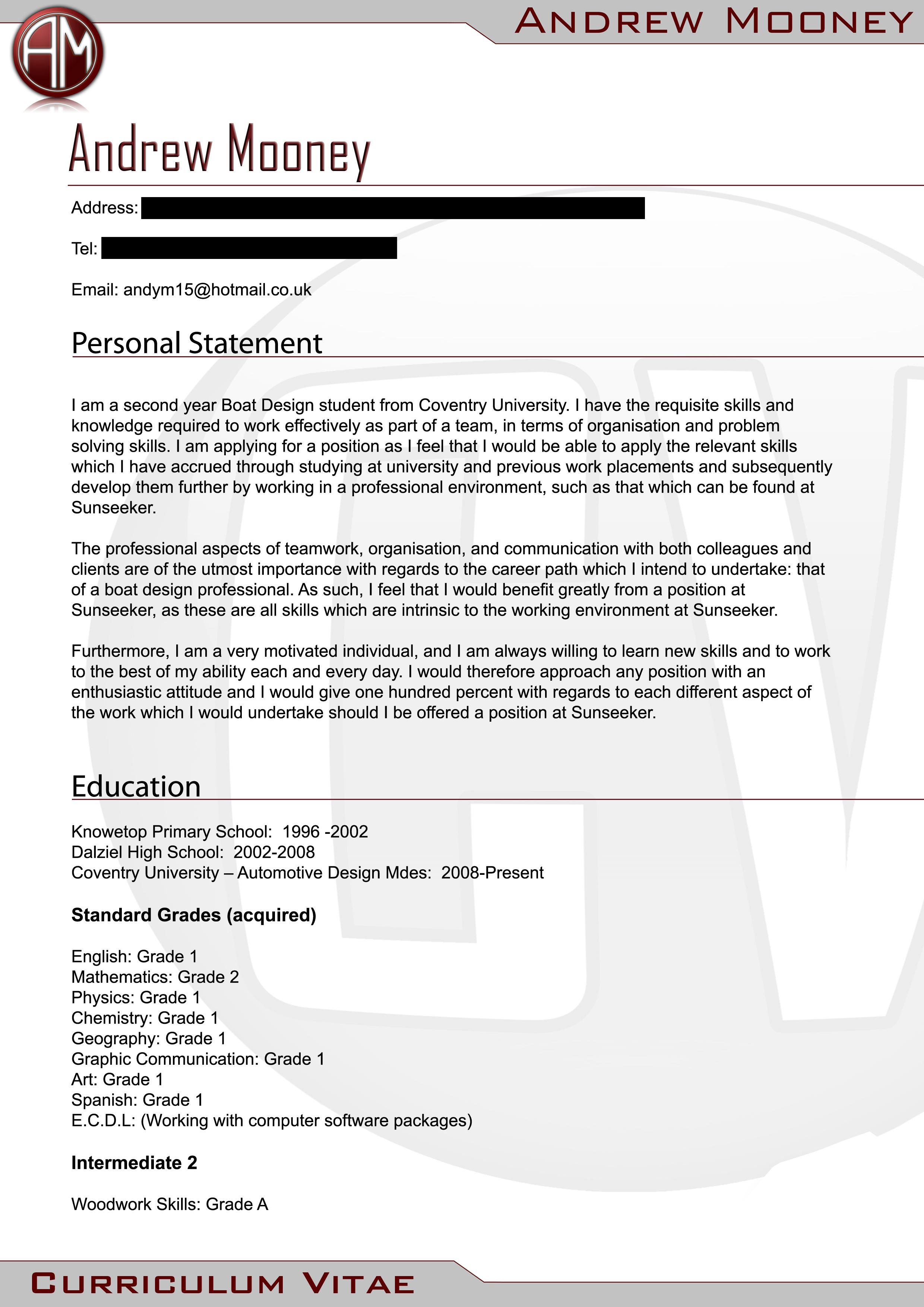 Career Kids My First Resume sample of resume application balance