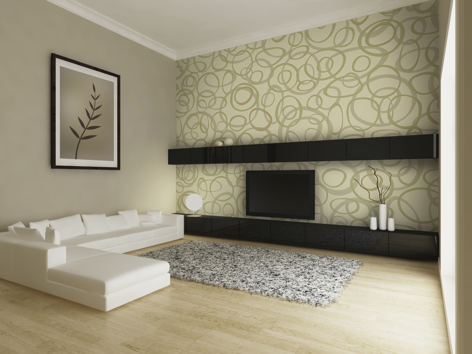 Wall Paper Interior Design Ideas