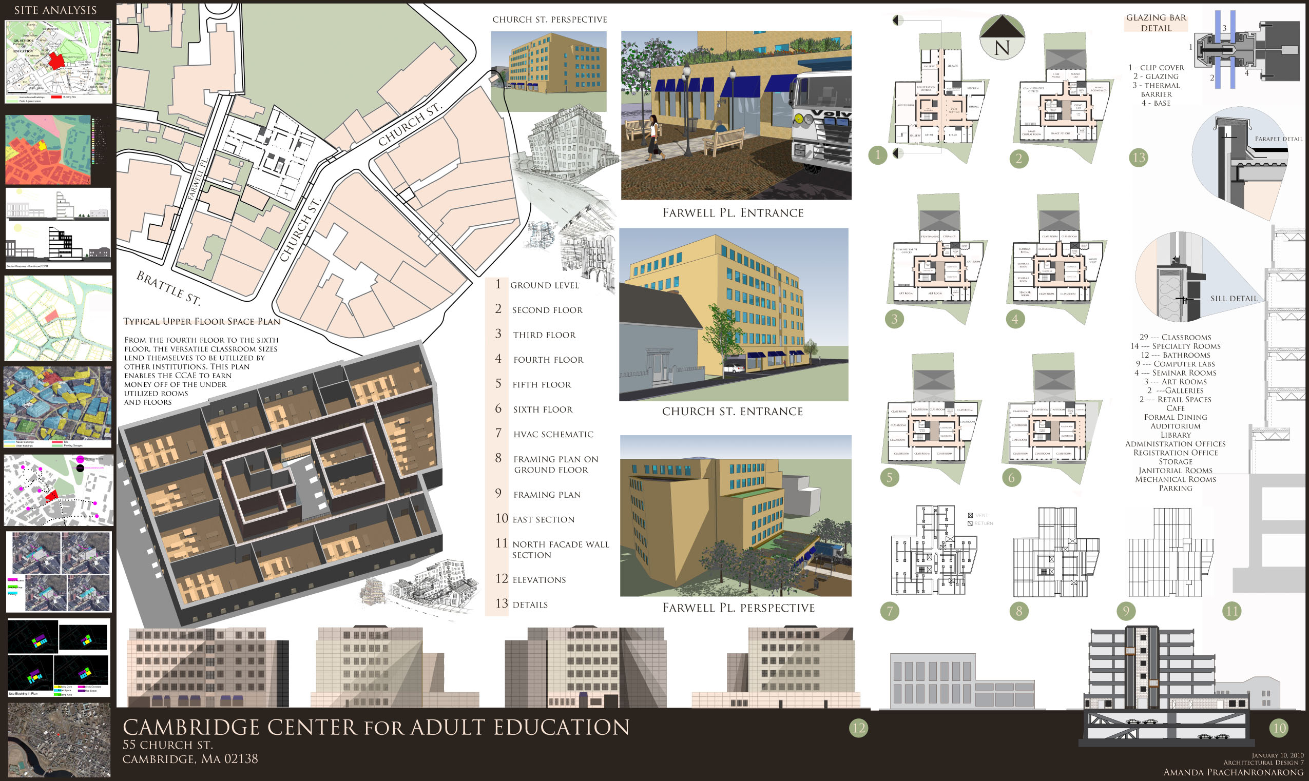Cambridge center of adult education by amanda for Architecture design sites