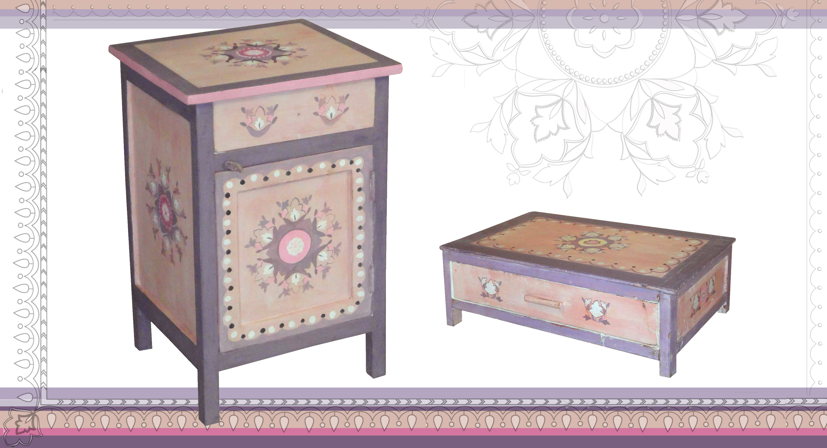 Hand Painted Childrens Furniture Designs