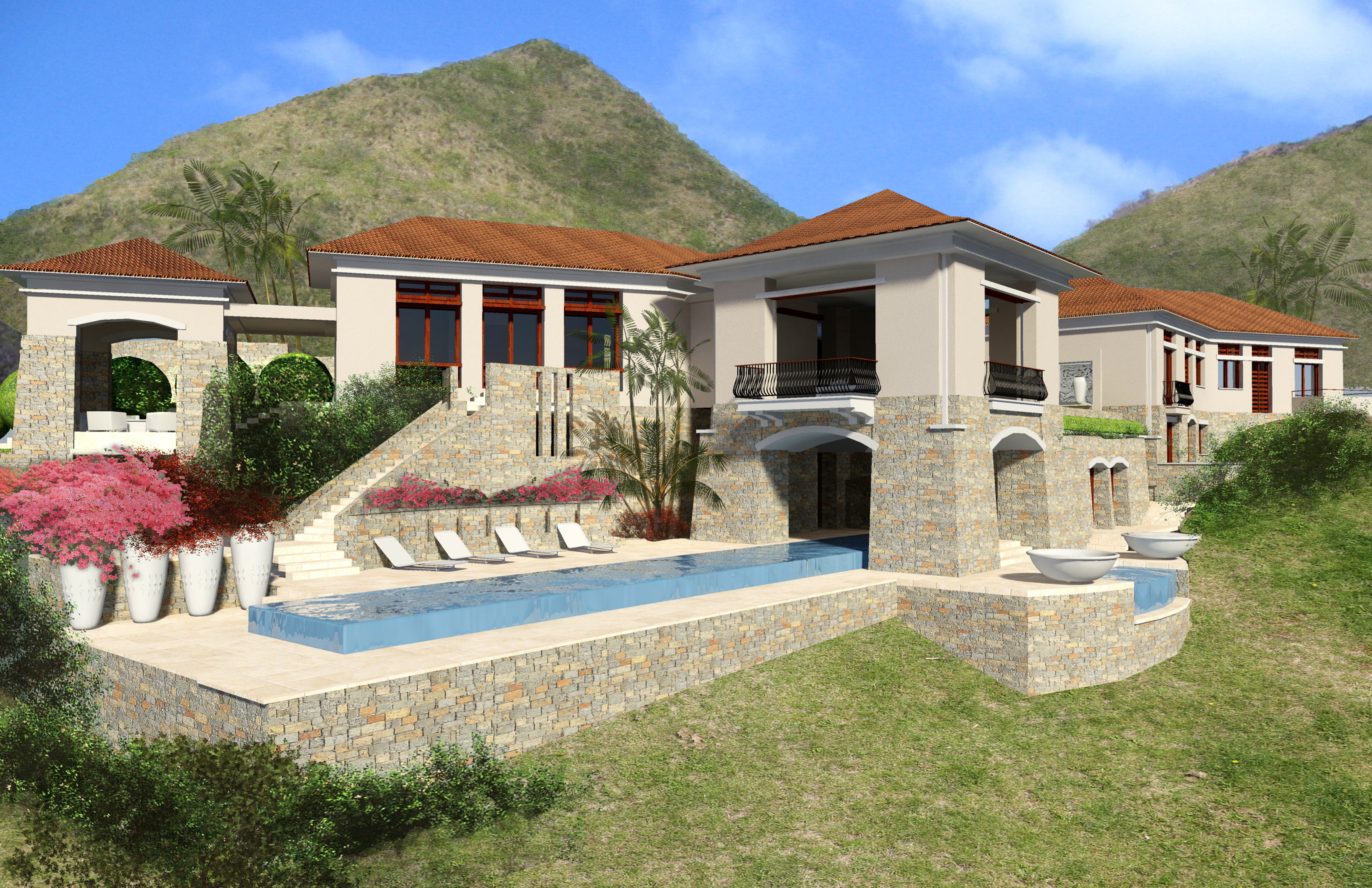 Caribbean house designs home design for Caribbean house designs