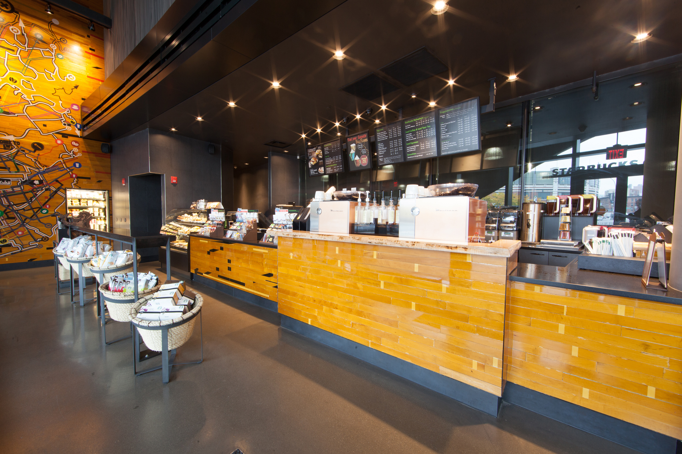 Starbucks Barclays Center Brooklyn By Brian Guze At
