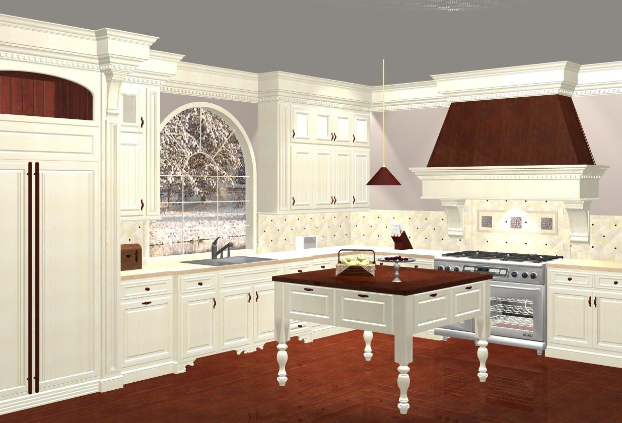 Renderings 3d Software Kitchen Concepts Rendered In 20 20 Design Property Of White River Hardwoods