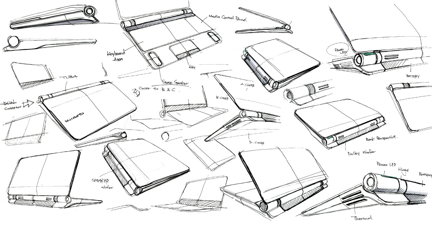 design sketch by hank  chien