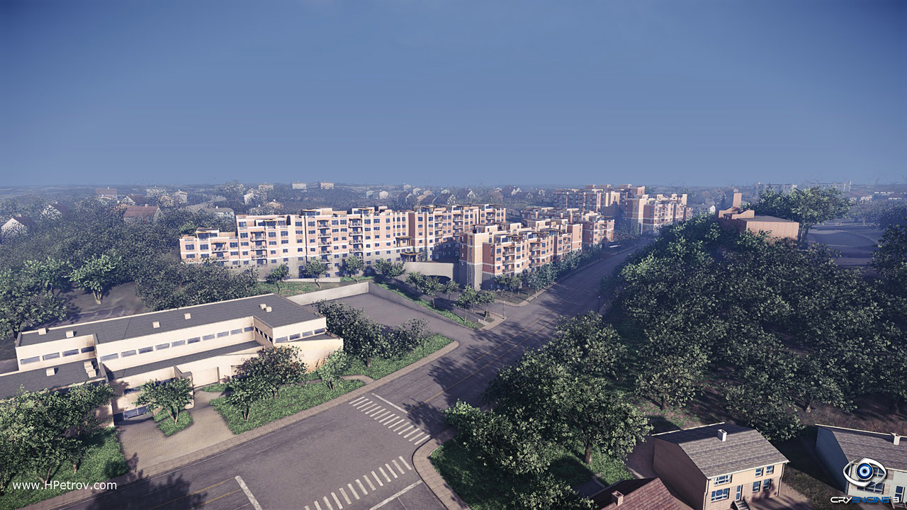 Architectural visualization in cryengine 3 by hristo for Cryengine 3 architecture
