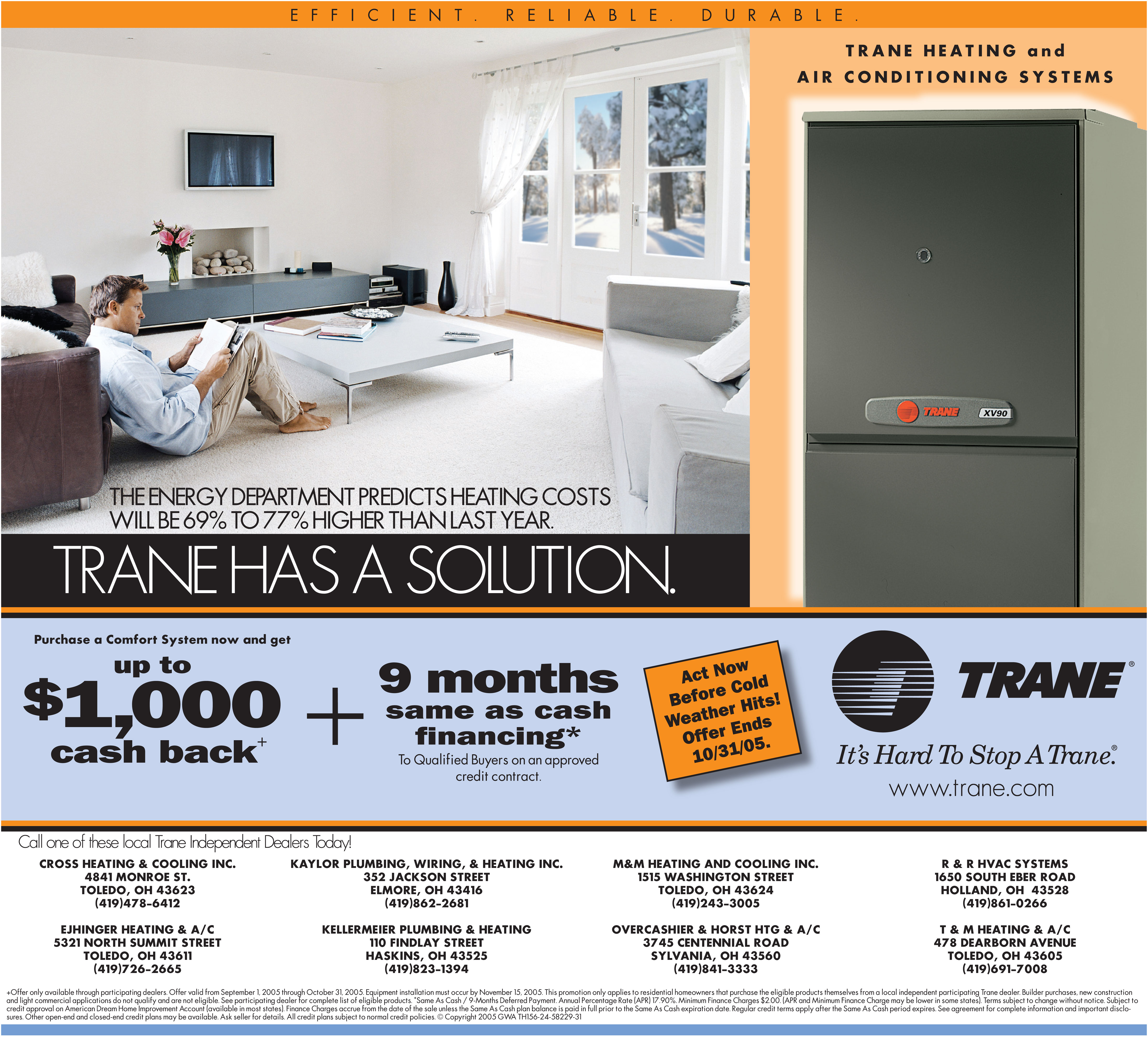 QView Full Size Trane Nationwide Advertising Sample
