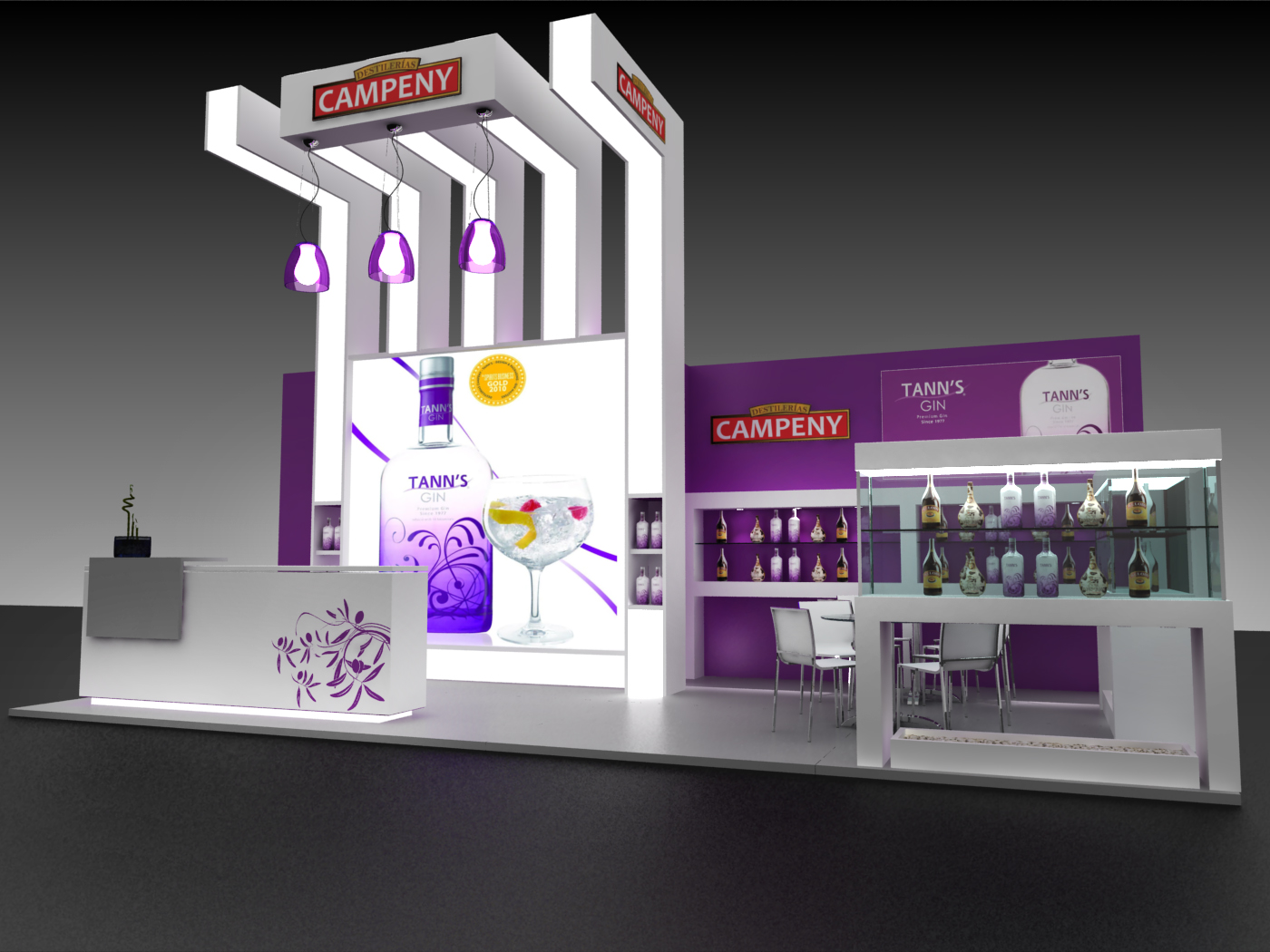 Exhibition Booth Design Johor : Exhibit design small by julieta iele at coroflot