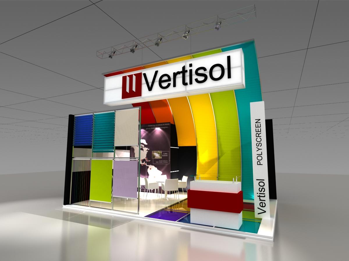 Small Exhibition Stand Design : Exhibit design small by julieta iele at coroflot