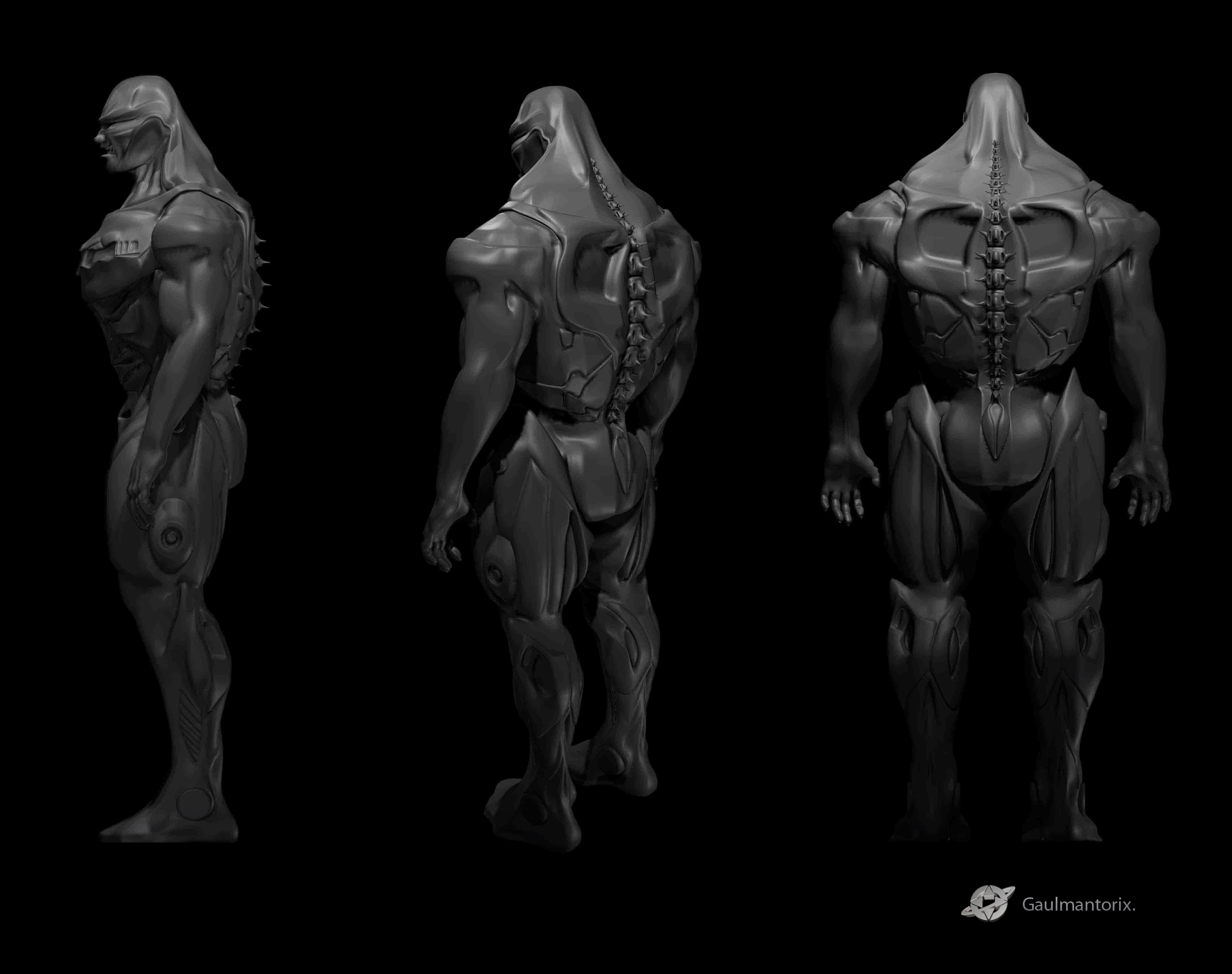 Game Character Design Complete Pdf : Game character design by jonathon davis at coroflot