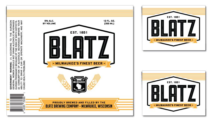 Blatz Beer Re-Branding by Derek Veigel at Coroflot.com | 855 x 506 jpeg 240kB