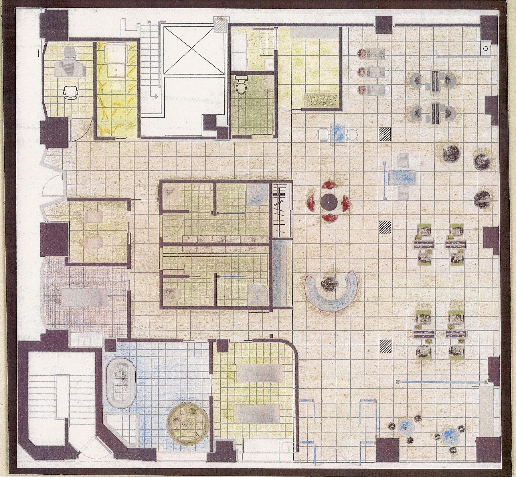 Salon And Spa Floor Plan Creator Free Joy Studio Design