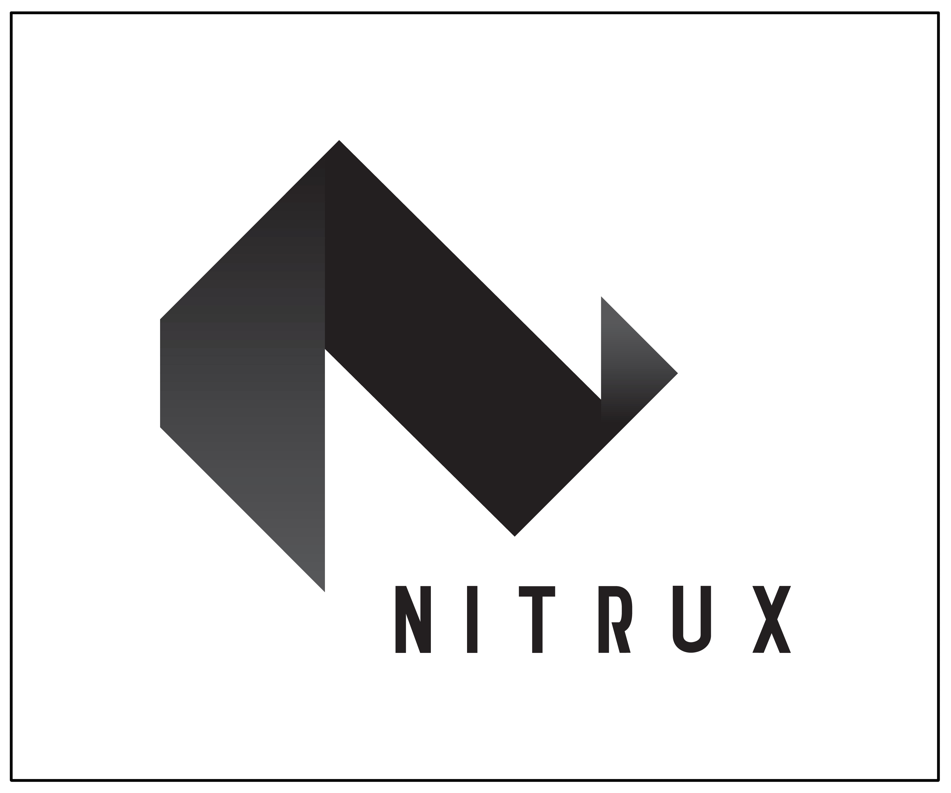 Hh Logo Design Logo- nitrux - corporate