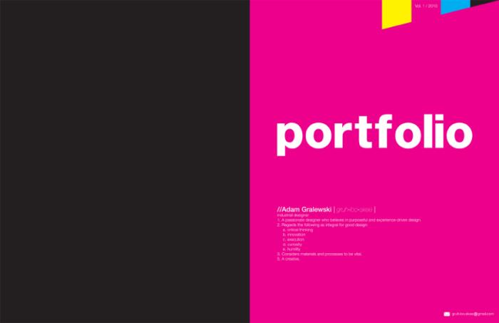 PORTFOLIO by Adam Gralewski at Coroflot.com