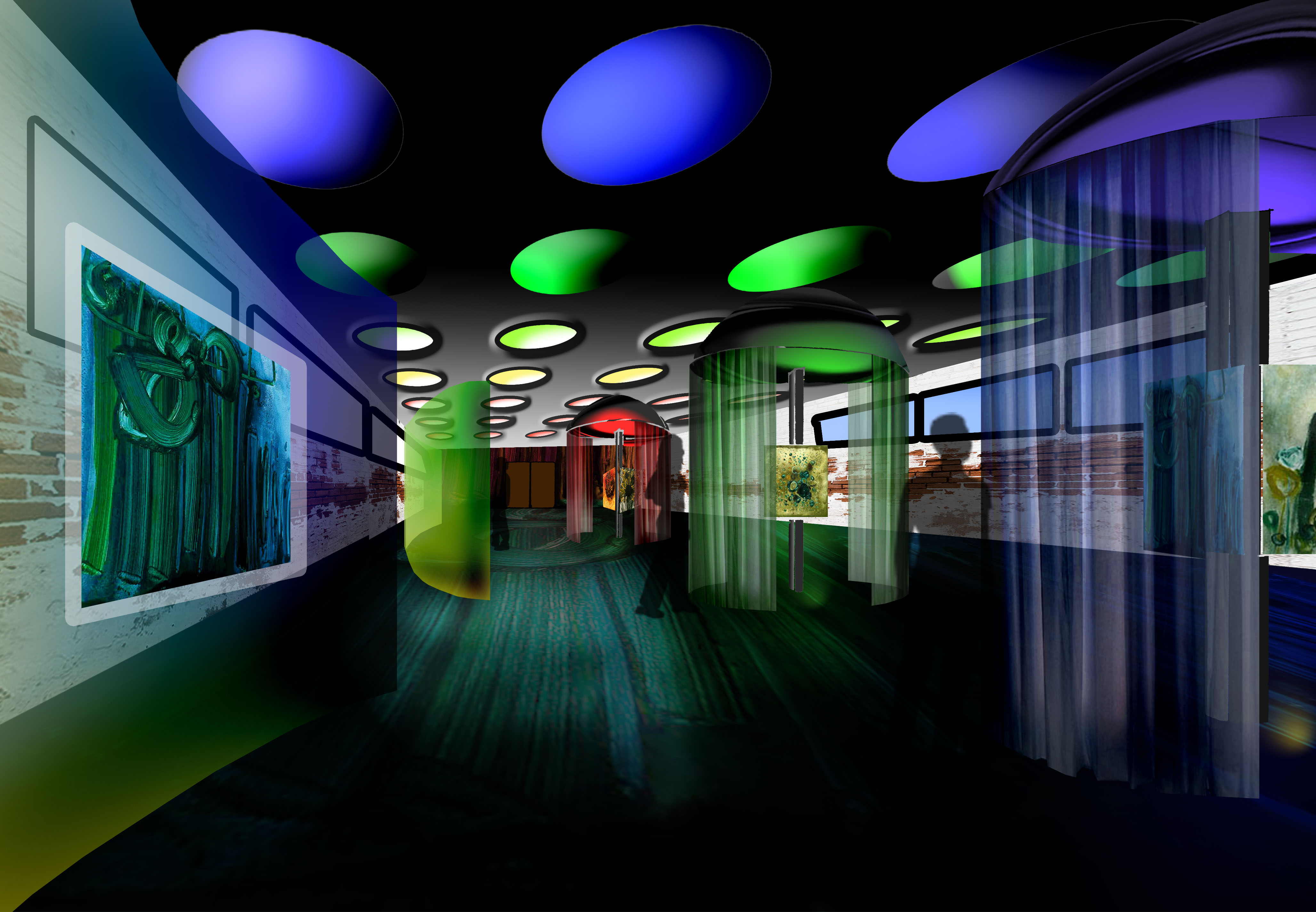 Exhibition Space By Clarissa Santoso At