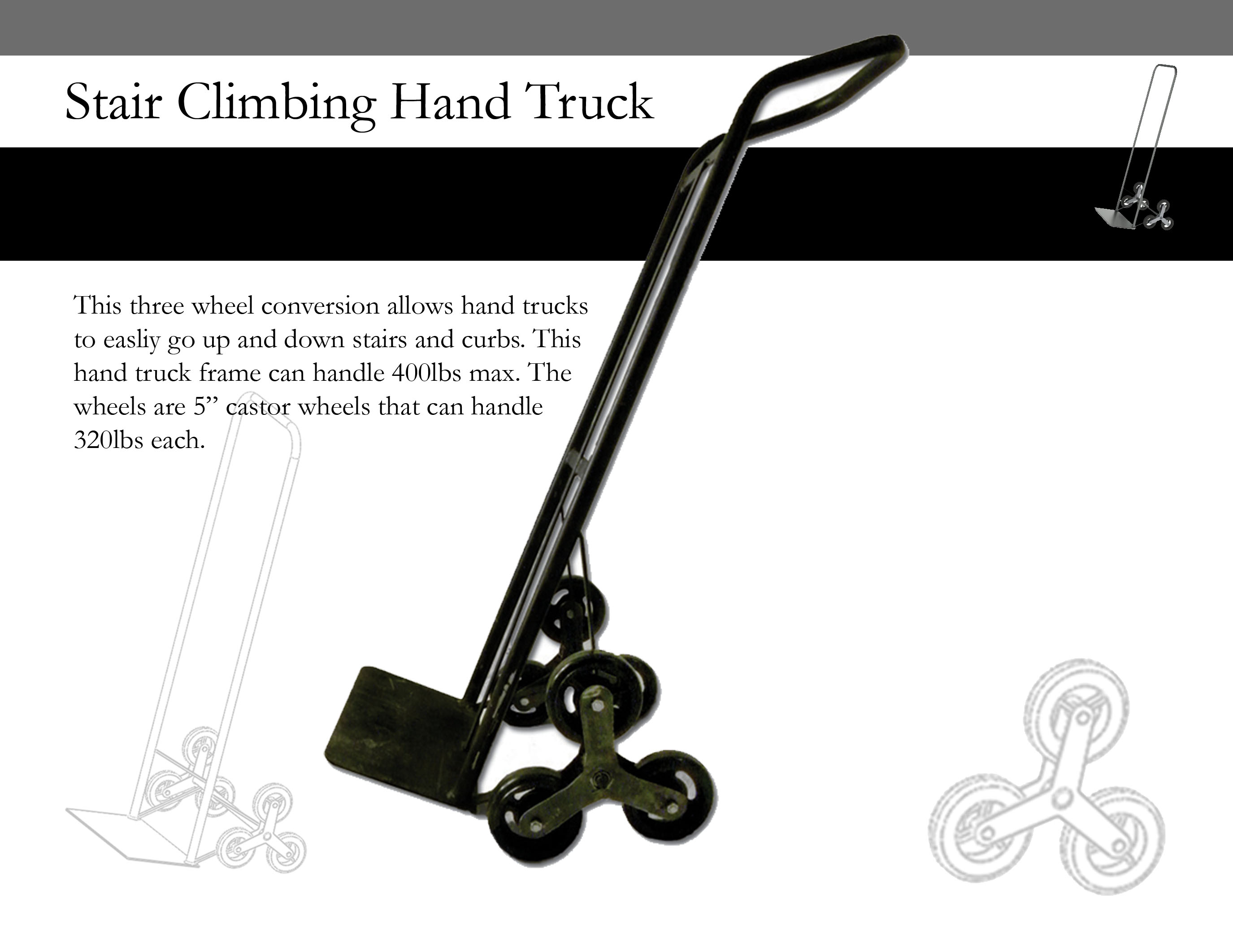 Motorized stair climbing dolly related keywords for Motorized hand truck rental