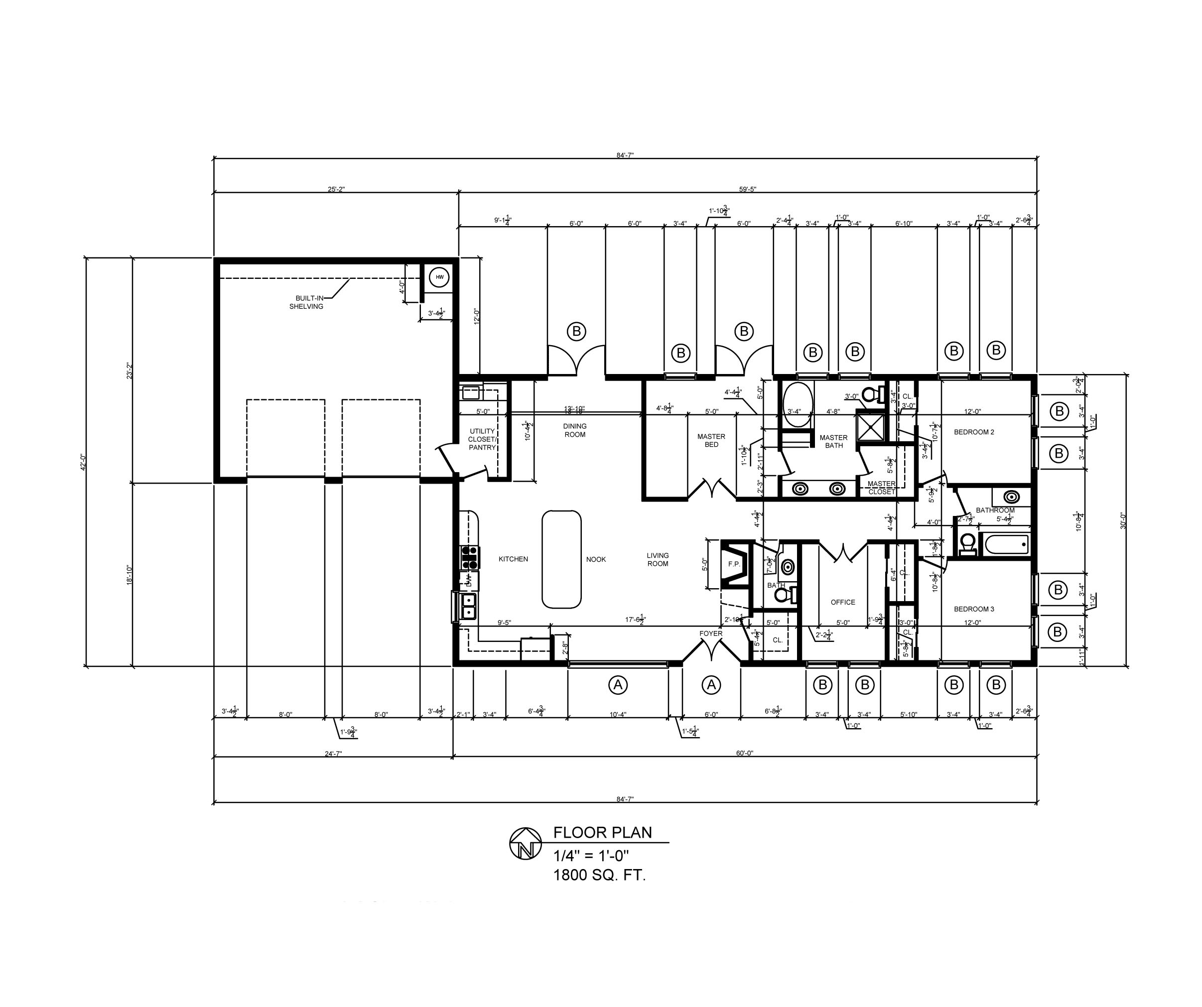 Autocad architectural drawings by steven paulsen at for Home architecture cad