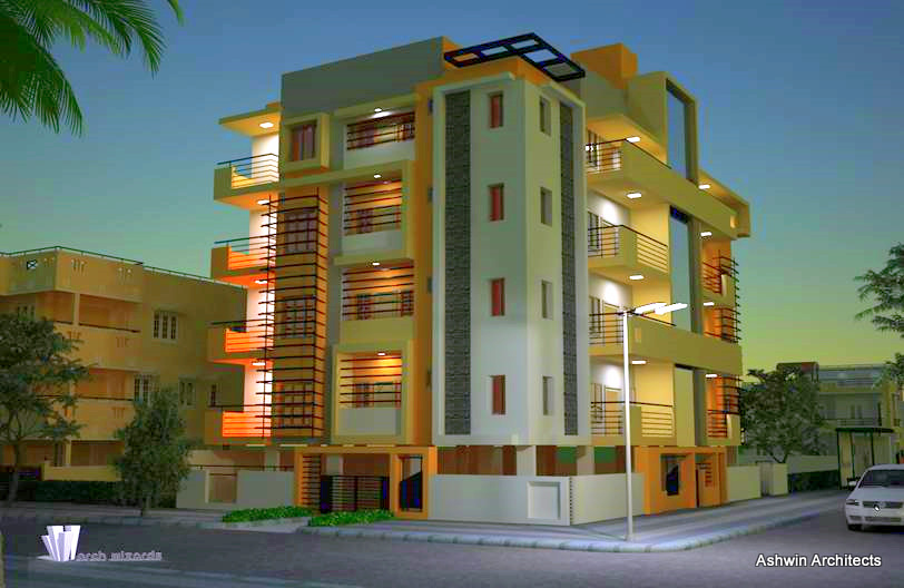 Building construction in bangalore by ashwin architects at for Architects in bangalore