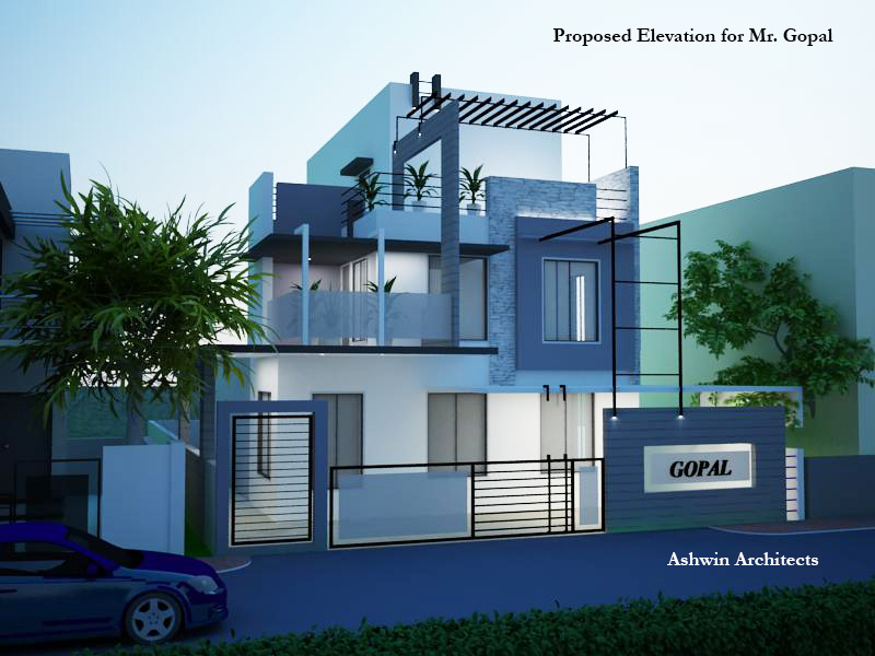 Residential projects in bangalore salem by ashwin for Architects in bangalore