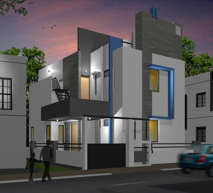 Architectural Design Modern Home Designs Services Bangalore India