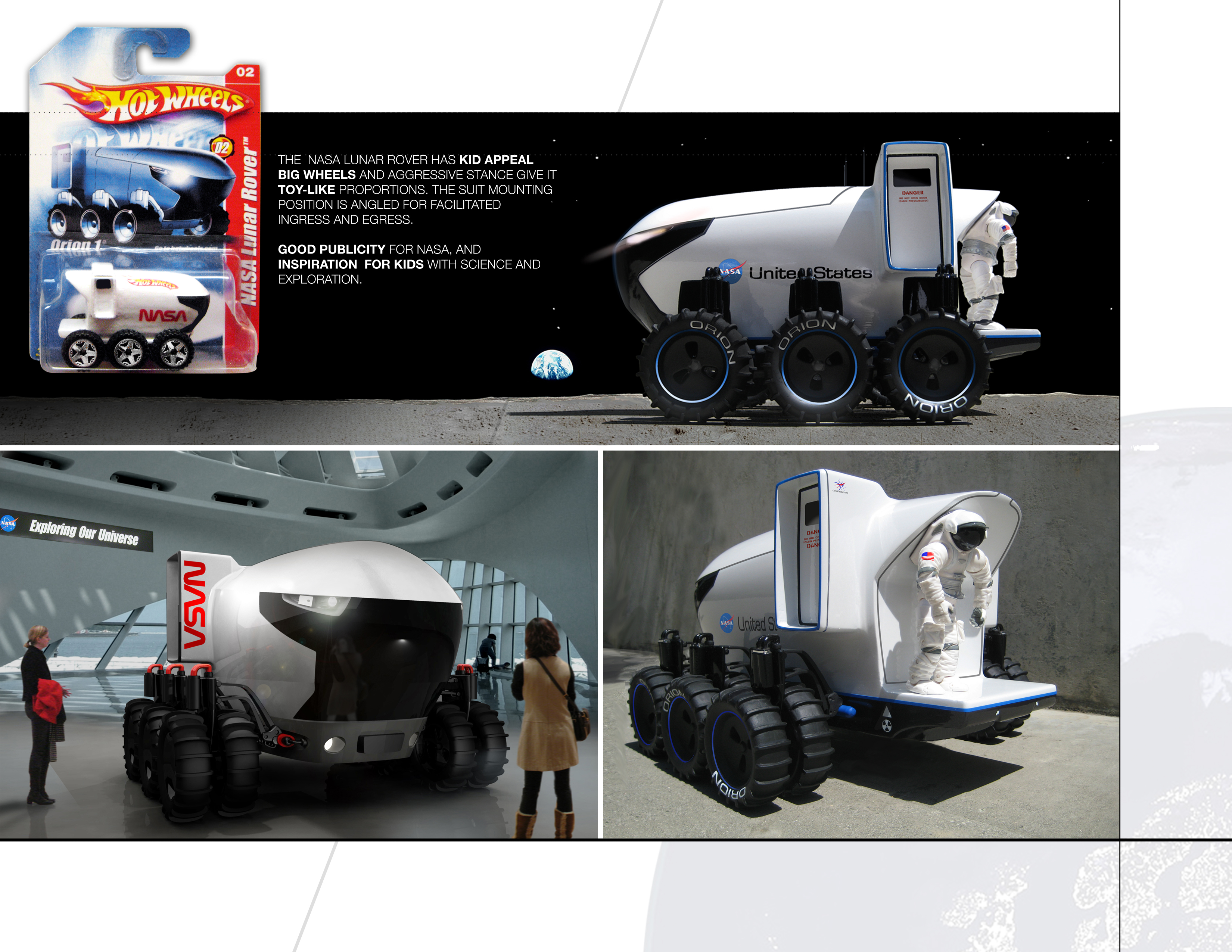 Cardboard Moon Rover - Pics about space