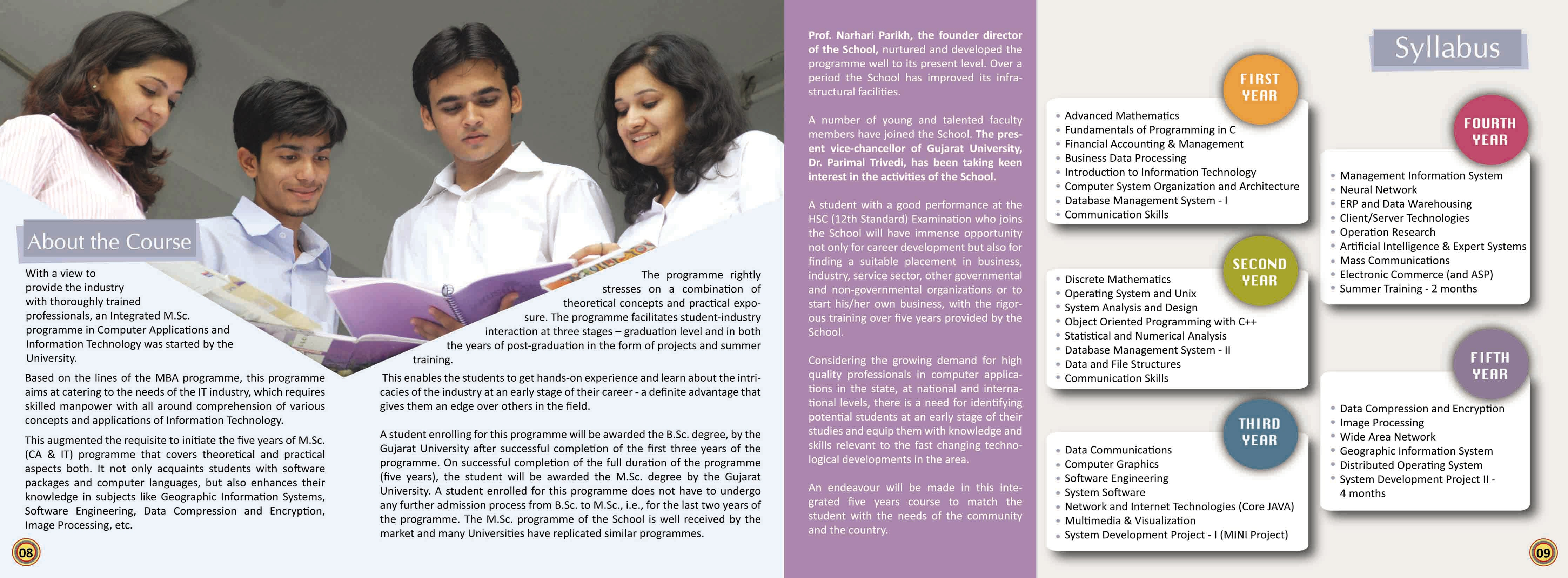 Placement Brochure by Mukesh Nayak at Coroflot – College Brochure