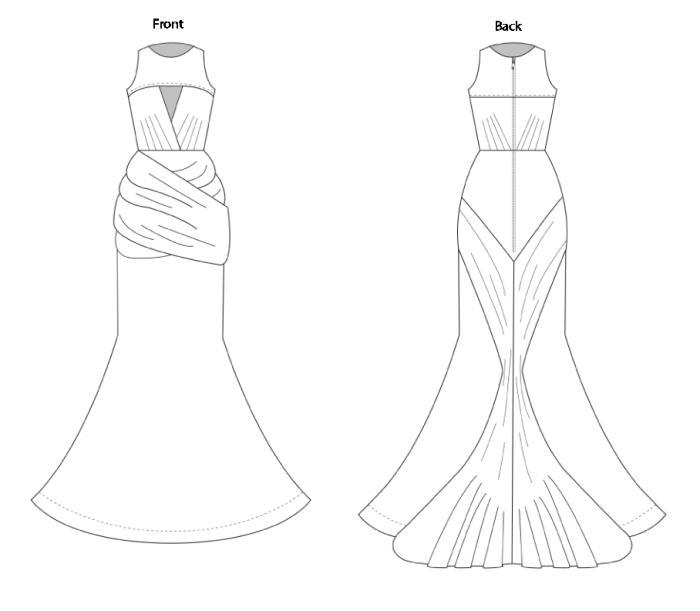 Wedding Gown By Nikki Hart At Coroflot.com