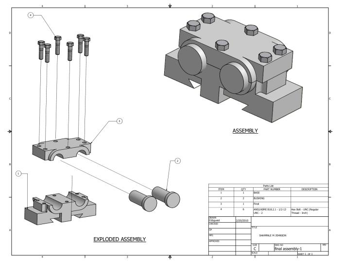 Mechanical Drawing Inventor By Cortez Foster At Coroflot Com