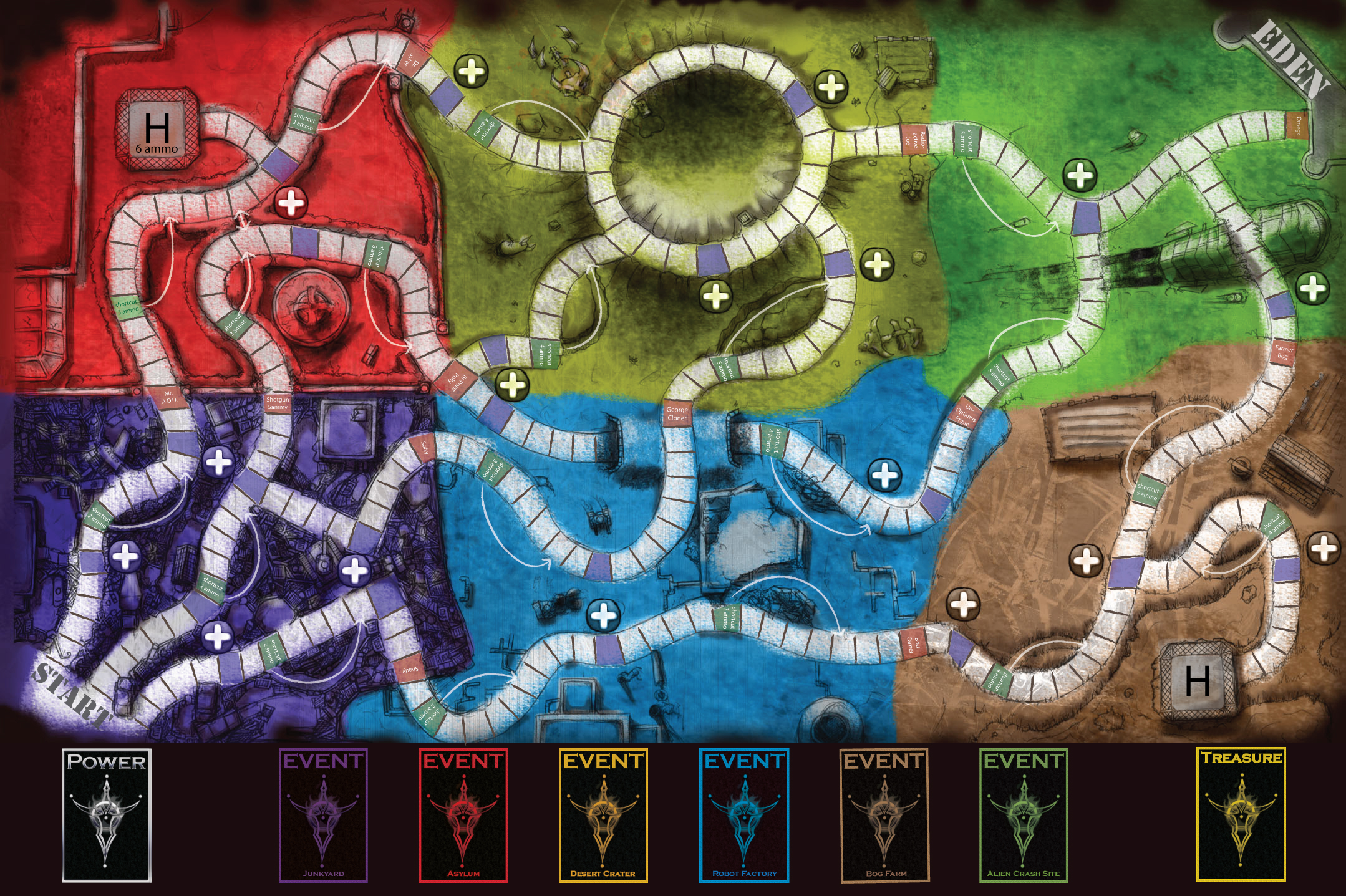 Eden Board Game by Charles Adams at Coroflot.com