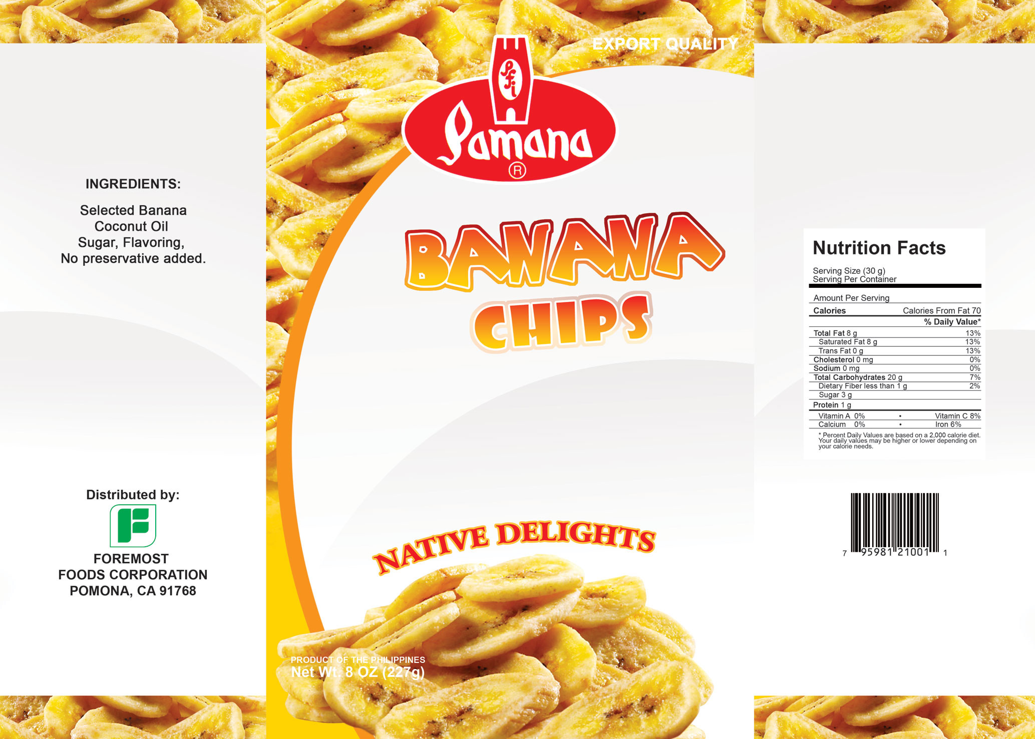 banana chips package - photo #6
