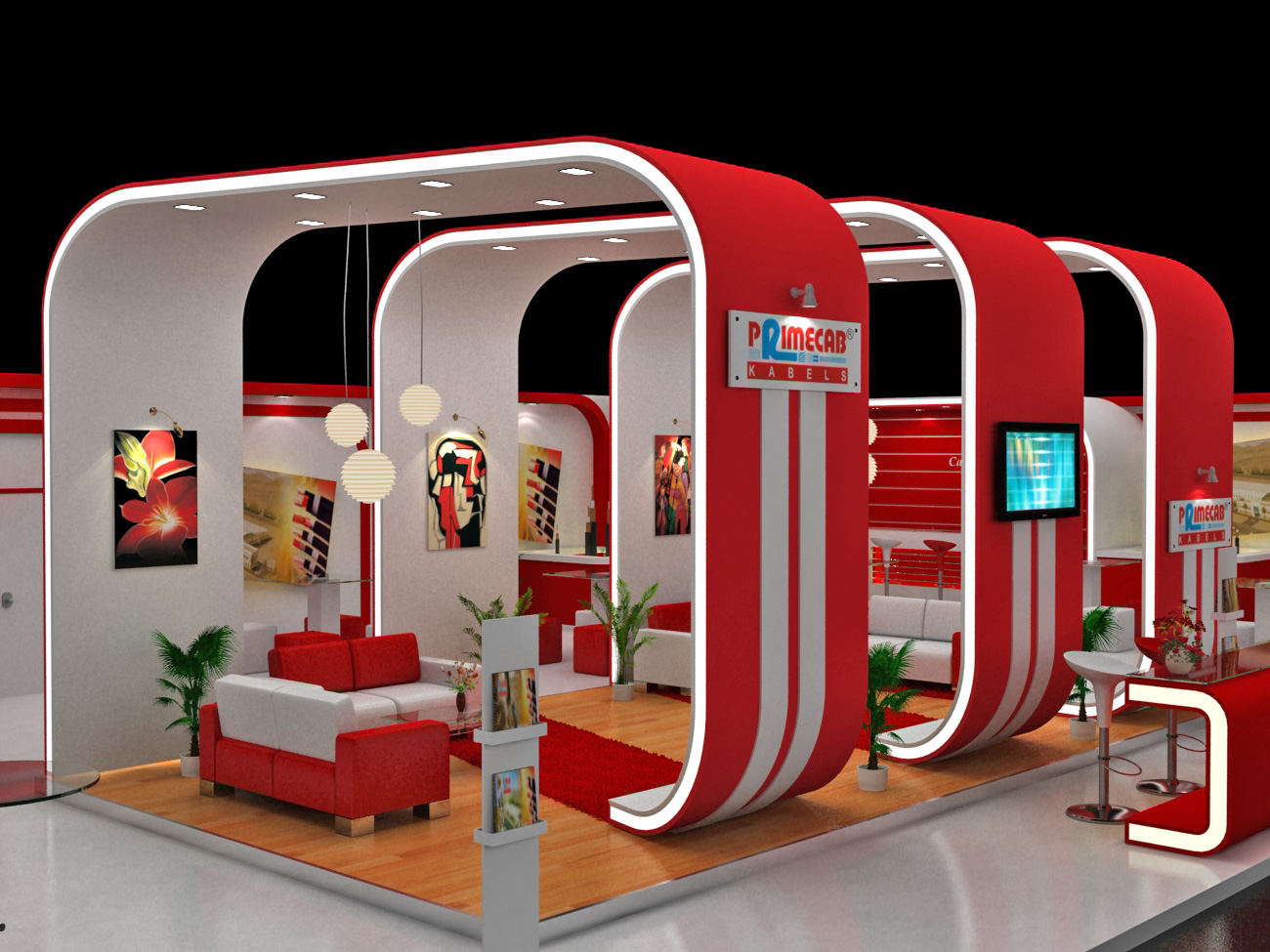 Exhibition stall designs by dnyansagar sapkale at for International decor services