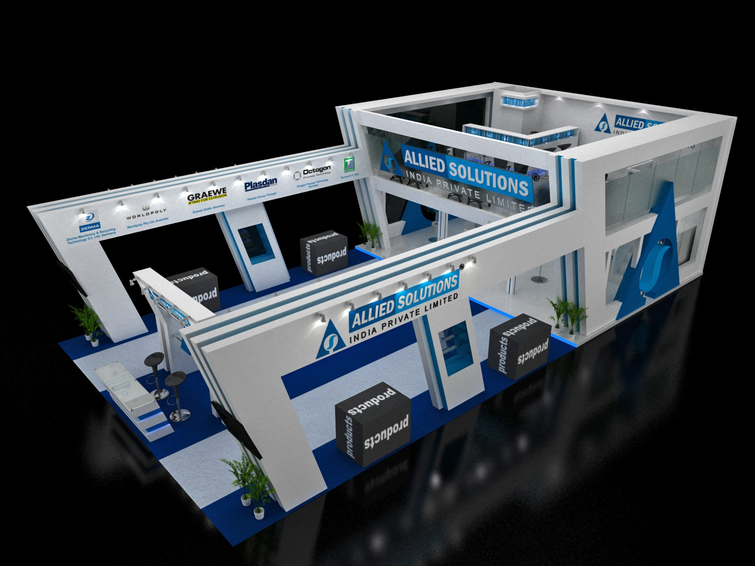 Creative Exhibition Stall Design : Creative exhibition stall images