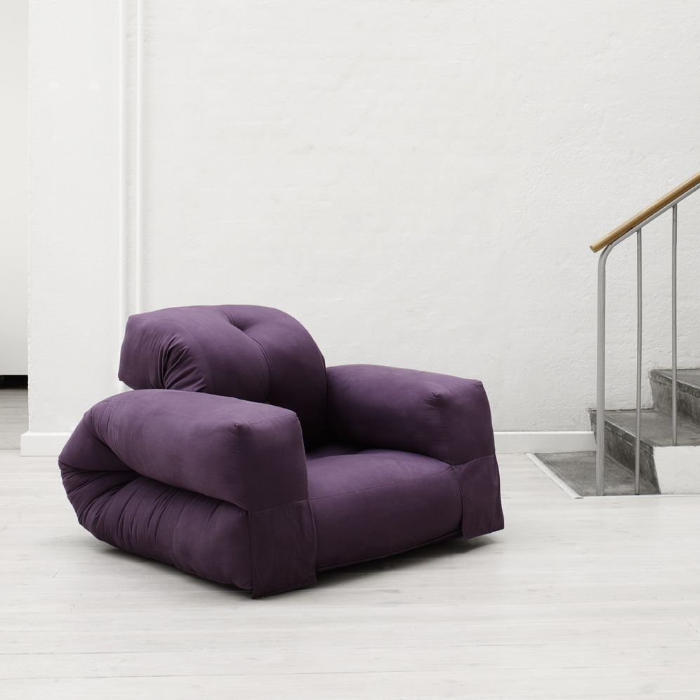 Hippo | Purple Cotton   Hippo Is   Just As Nest/Nido   A Redesign Of A  Traditional Futon Furniture Designed For Small Spaces