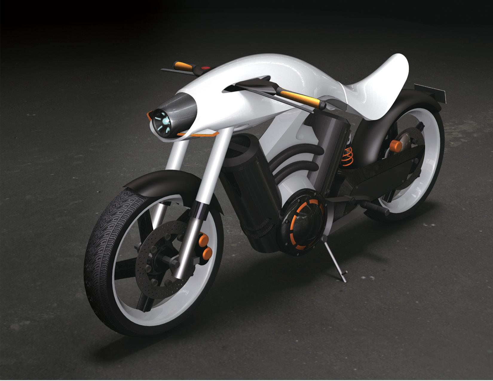 harley davidson electric bike by yuyol lee at. Black Bedroom Furniture Sets. Home Design Ideas