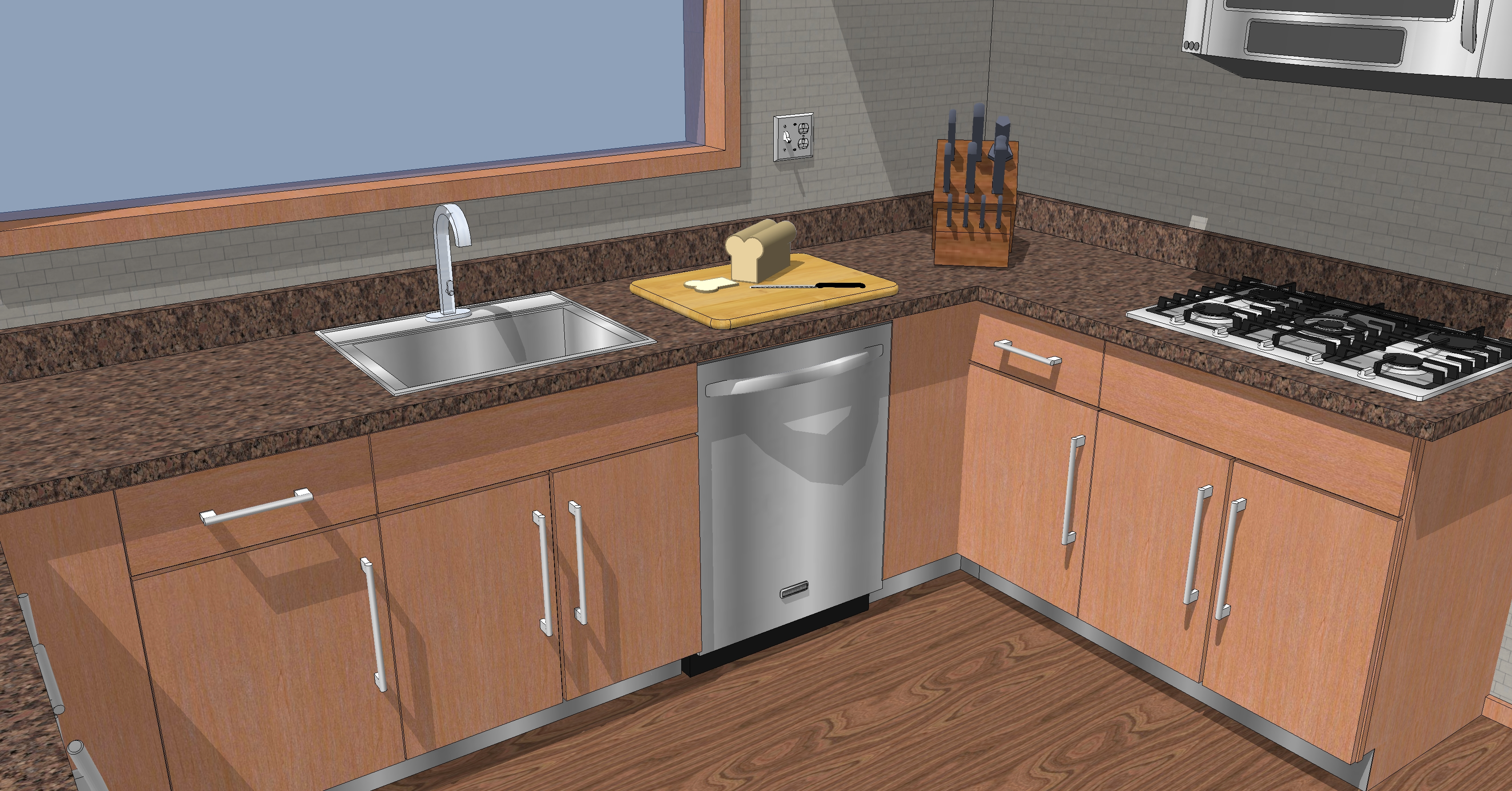 Produced On Google Sketchup