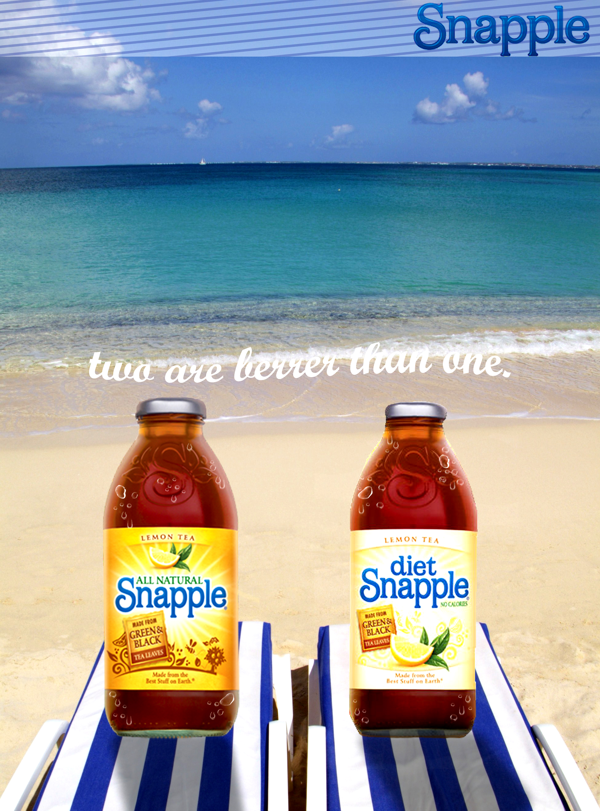 Snapple Mock Magazine Ad by UndreamtGfX on DeviantArt