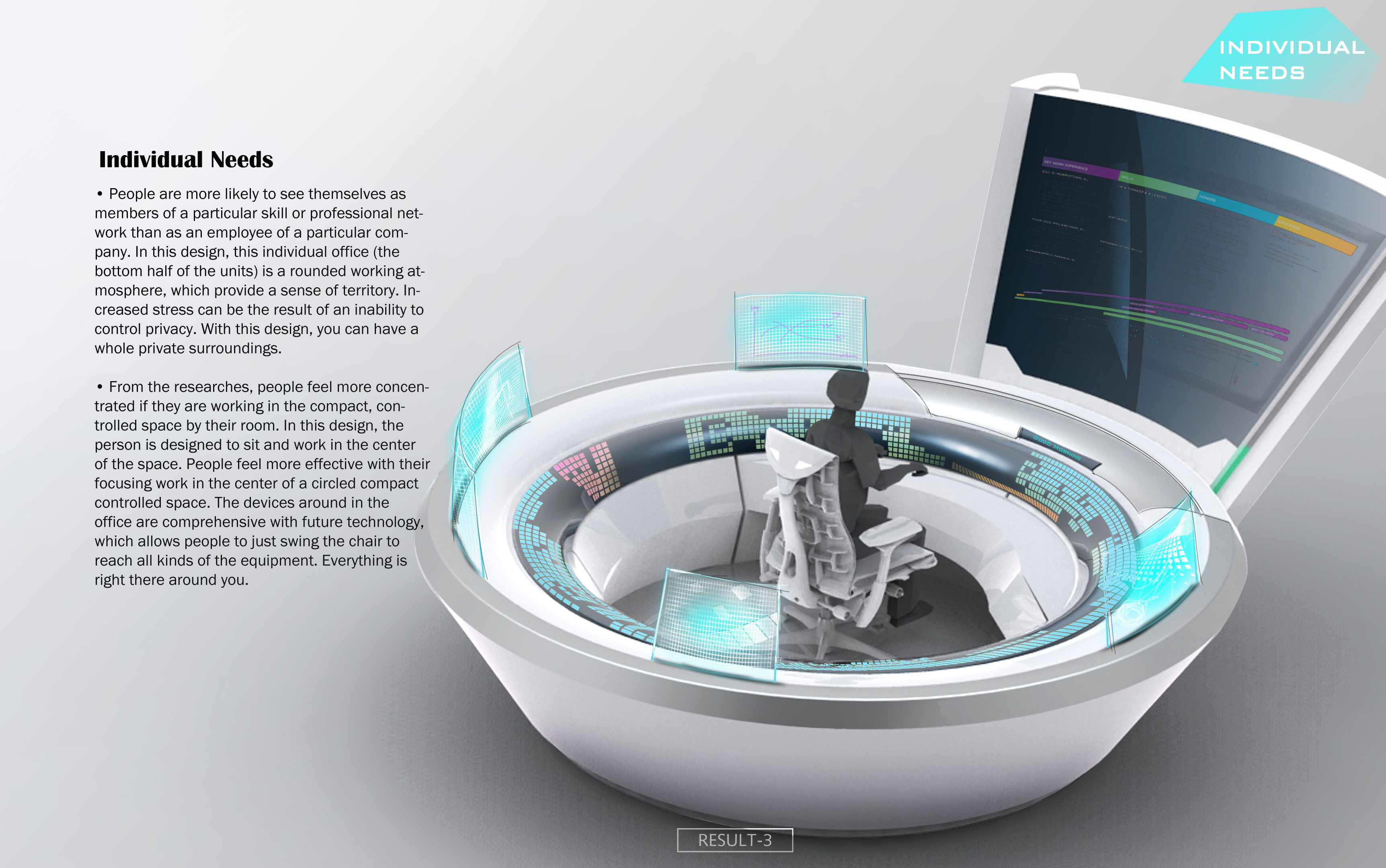 The office of the future by brian liang at for Office design of the future