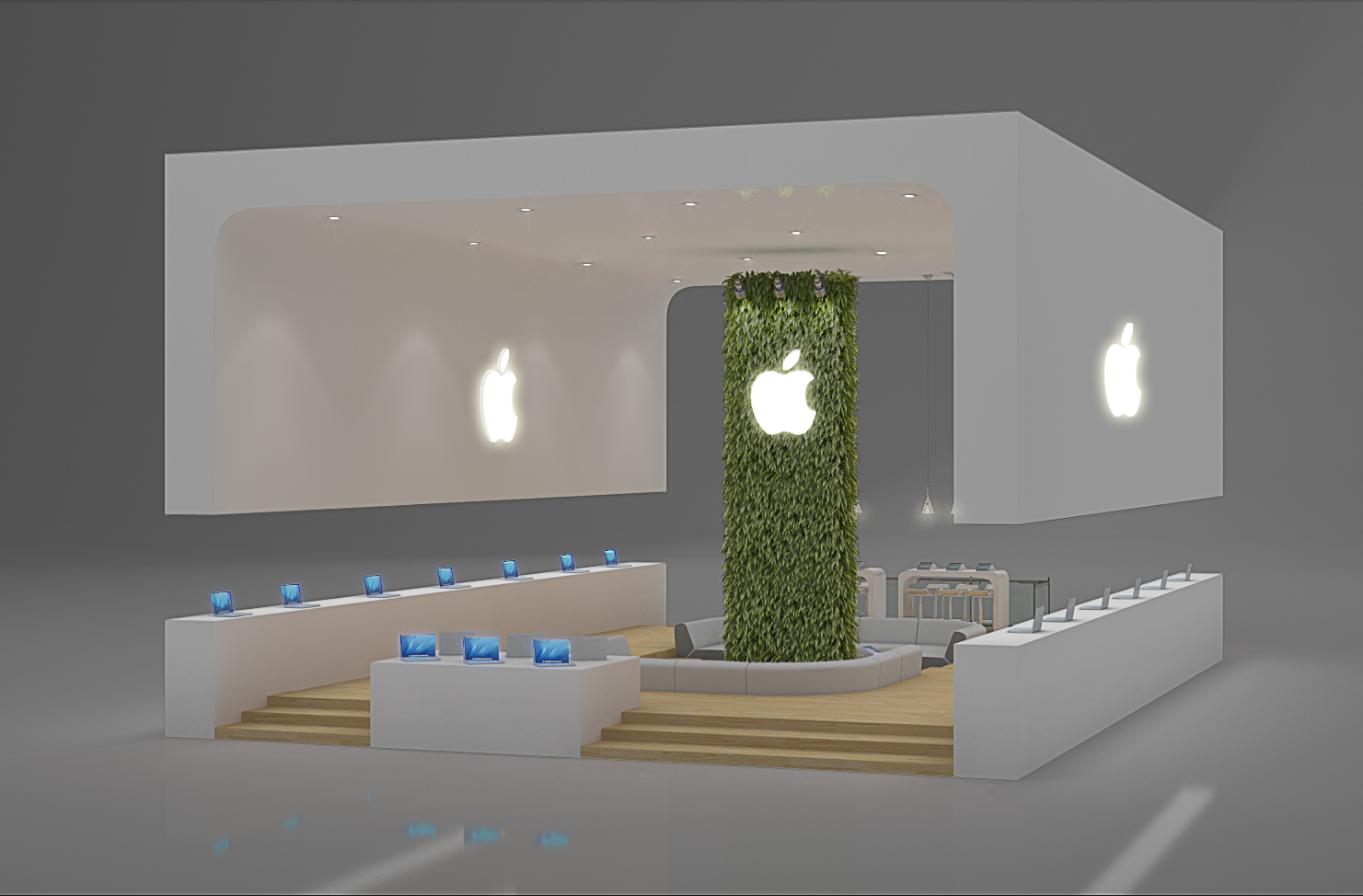 Exhibition Design Apple By Leticia Velasco At Coroflotcom