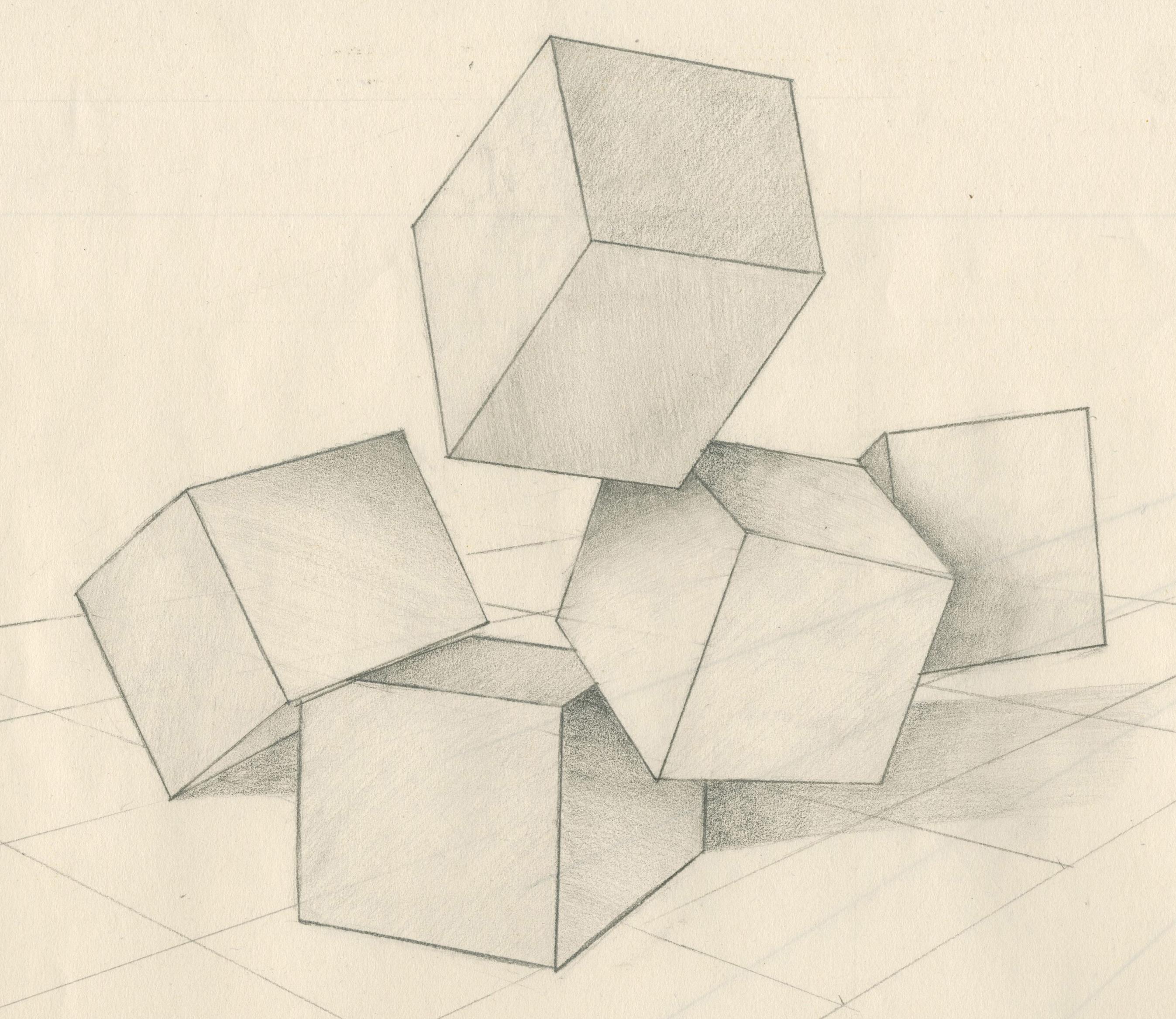 Как сделать бумажный кубик 60