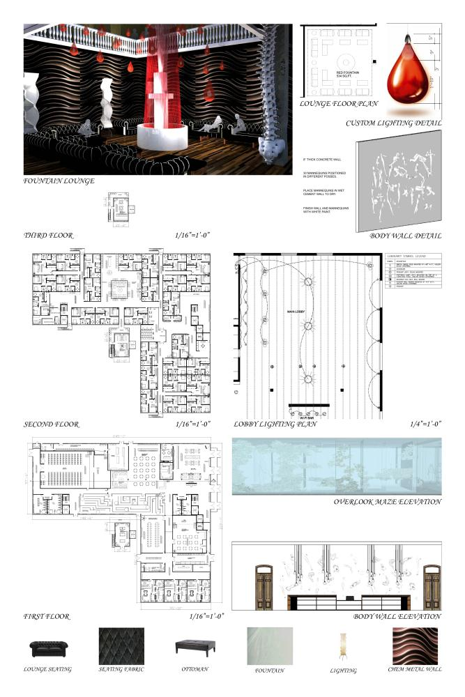 Morning star thesis hotel project by joanie brice guyer at for Apartment design thesis