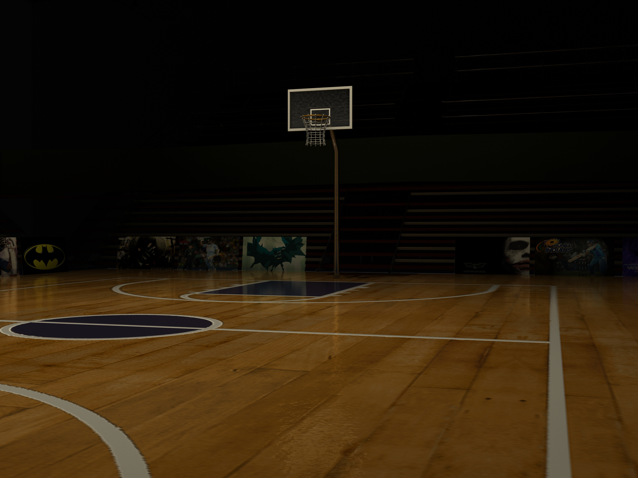 Basketball court dimensions nba driverlayer search engine for Indoor basketball court size