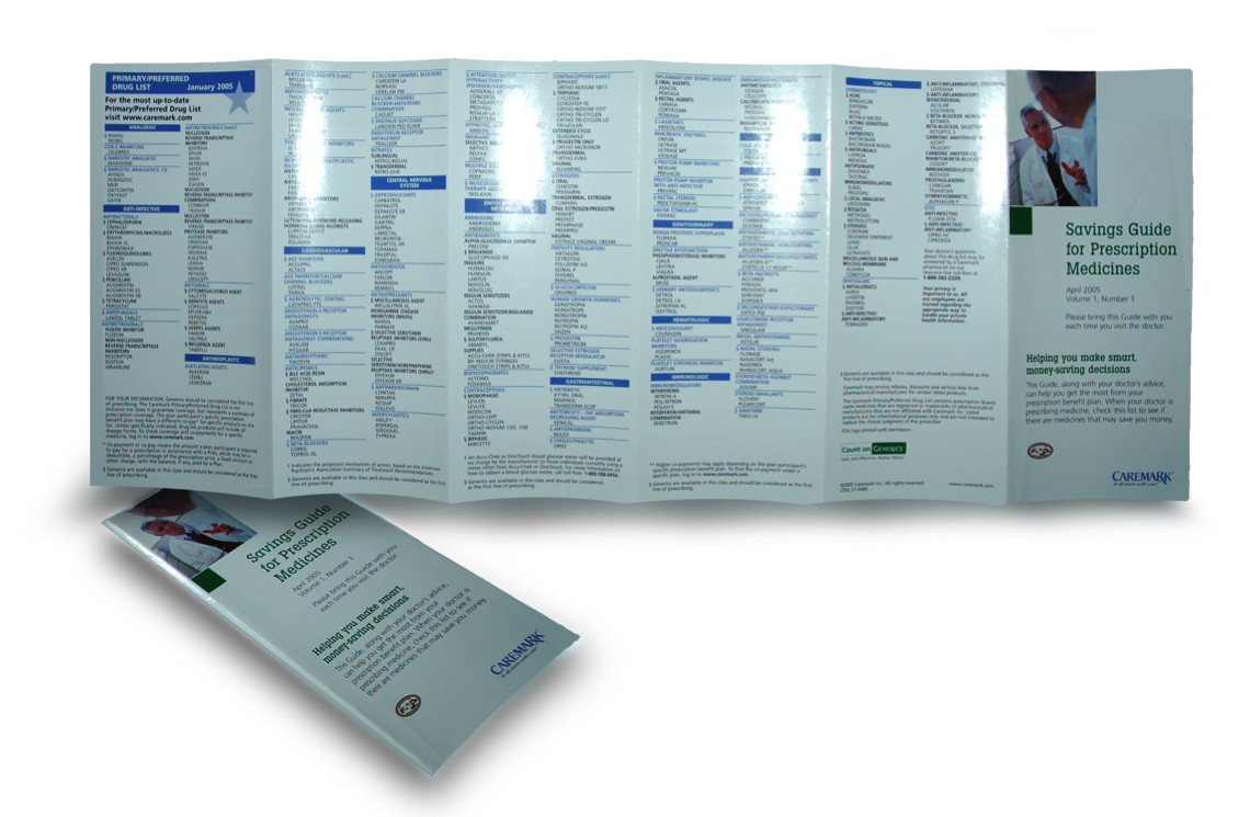 Brochure Layout and Design by Nan Kennedy at Coroflot.com