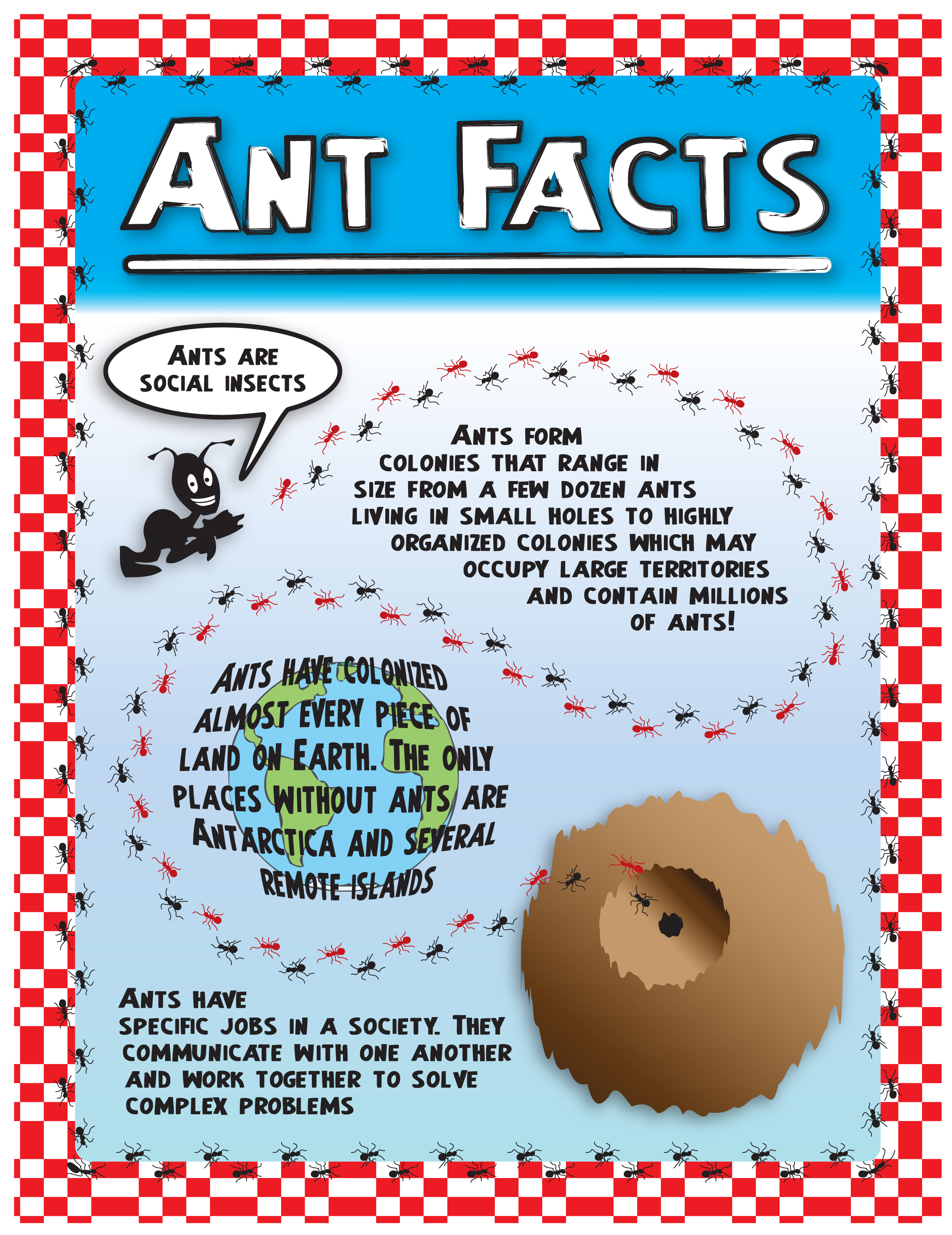 fun facts about ants for preschoolers illustration by andrew lyon at coroflot 219