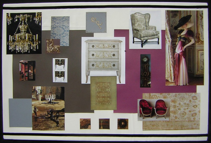 Womens Clothing Store Concept Board