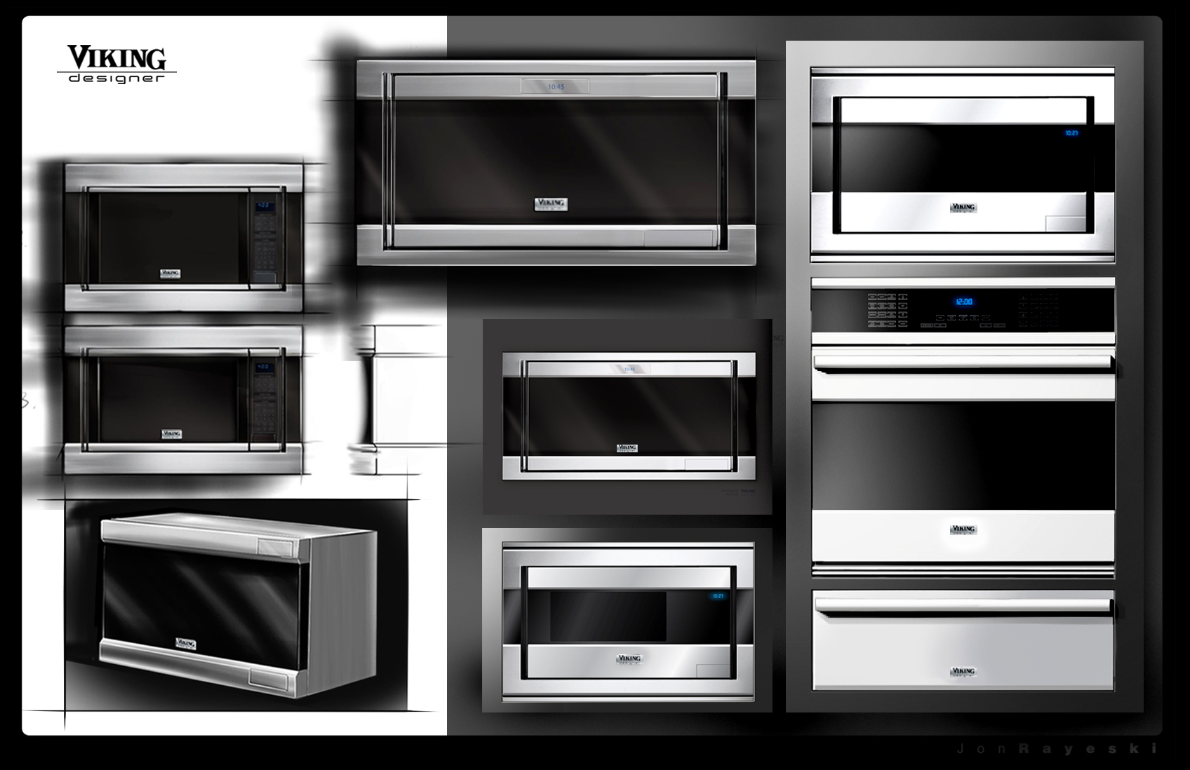 Responsibility For The New Viking Designer Series Included Design And Development Of Built In Microwave