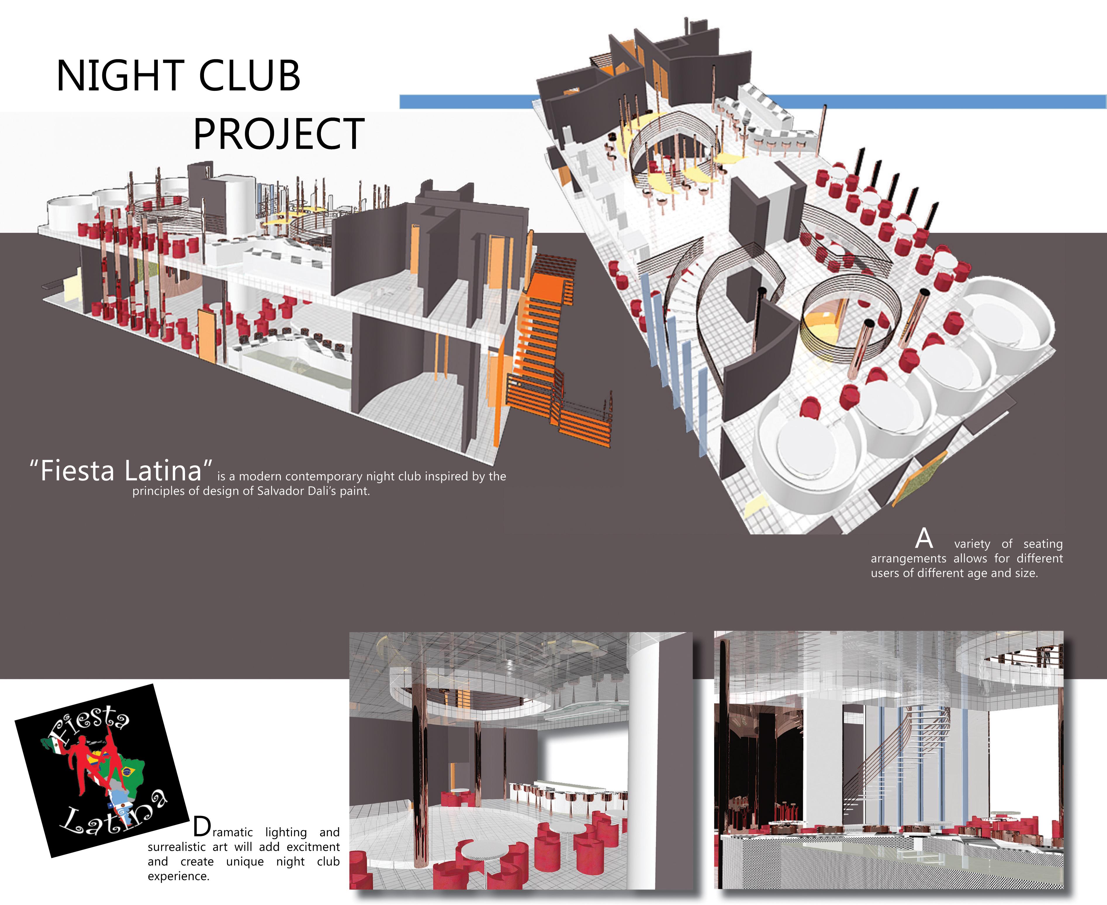 Interior Design Portfolio Student By Aracelly Rosendahl At