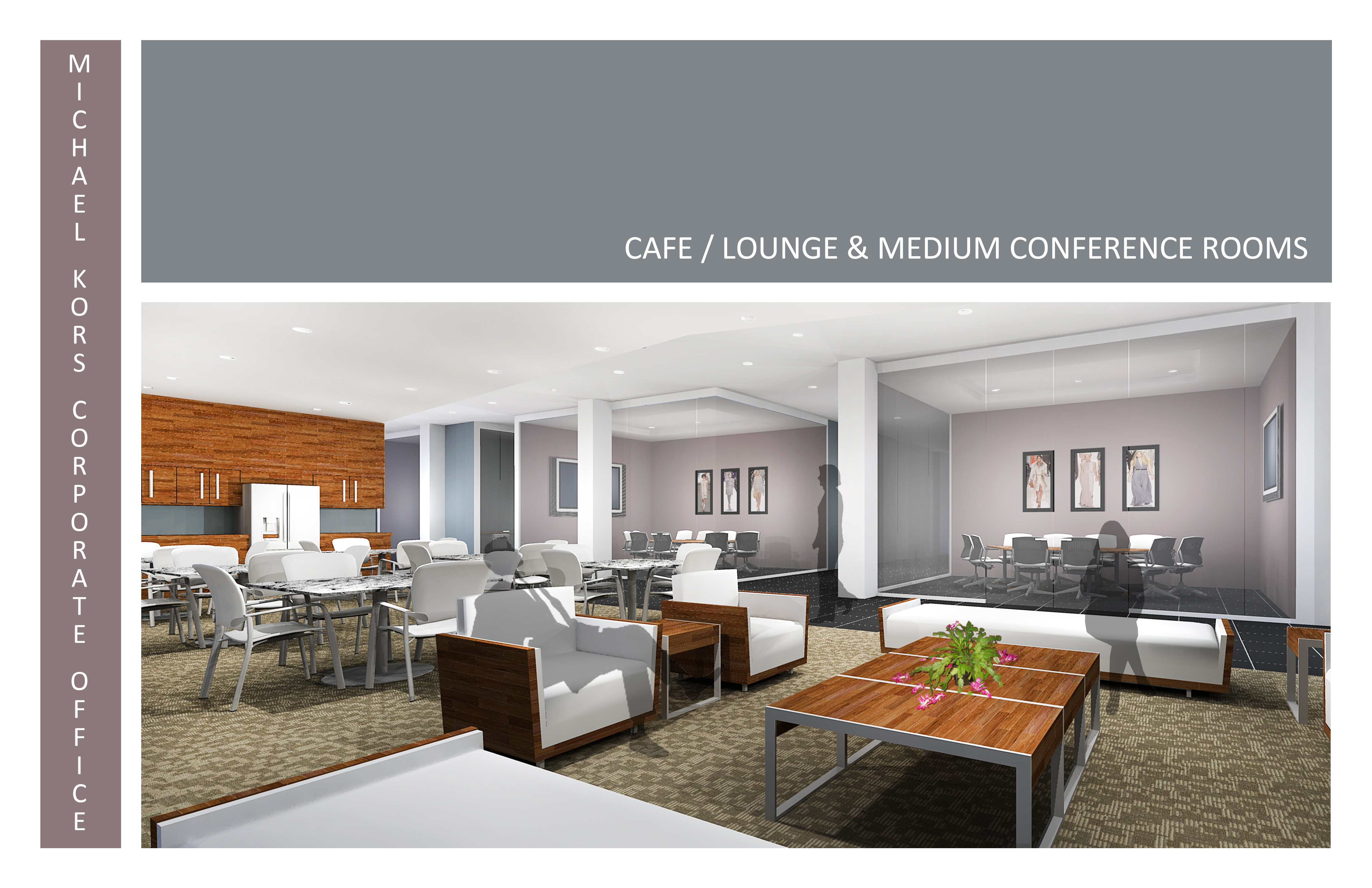 Michael Kors Lounge Conference Rooms