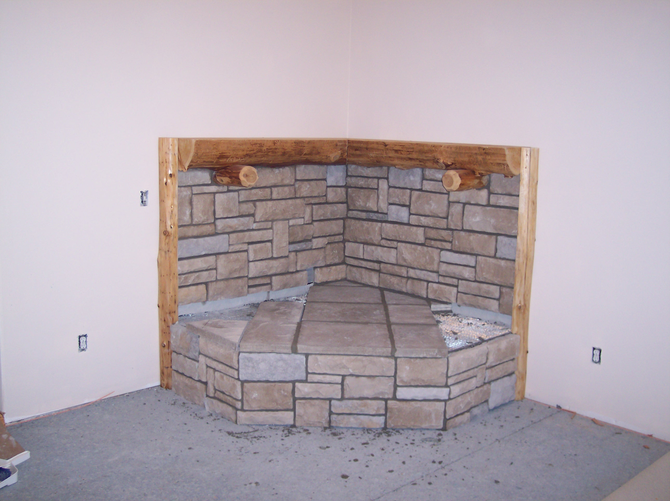 Masonry Work By David Sample At