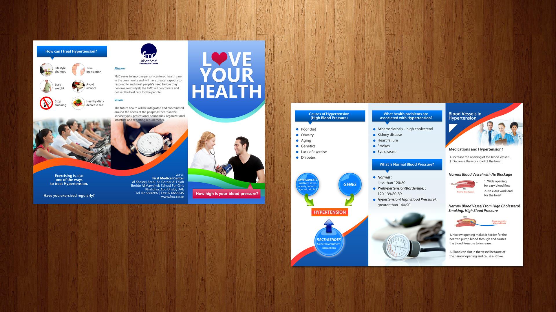 Free hypertension brochures